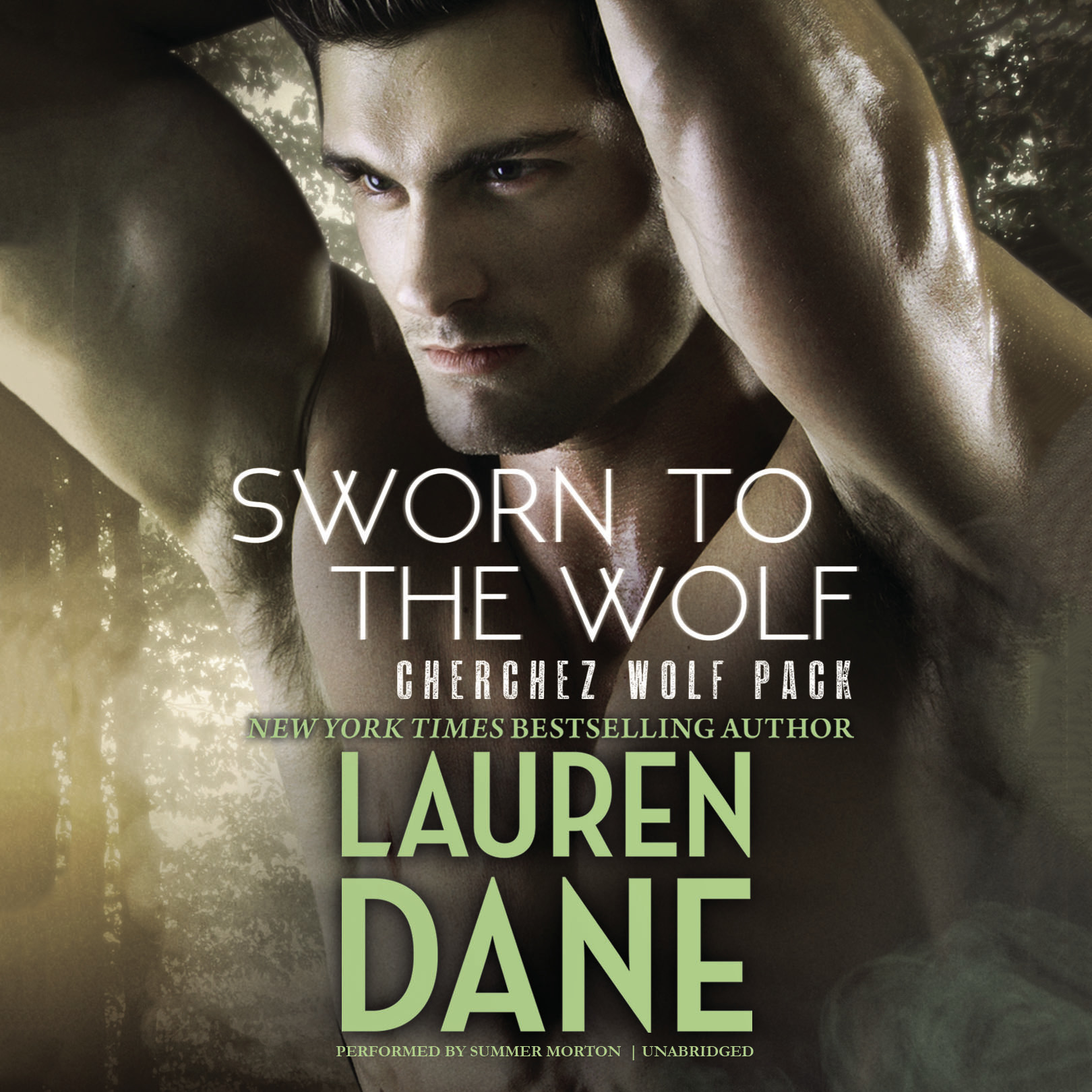 Printable Sworn to the Wolf: Cherchez Wolf Pack, Book 2 Audiobook Cover Art
