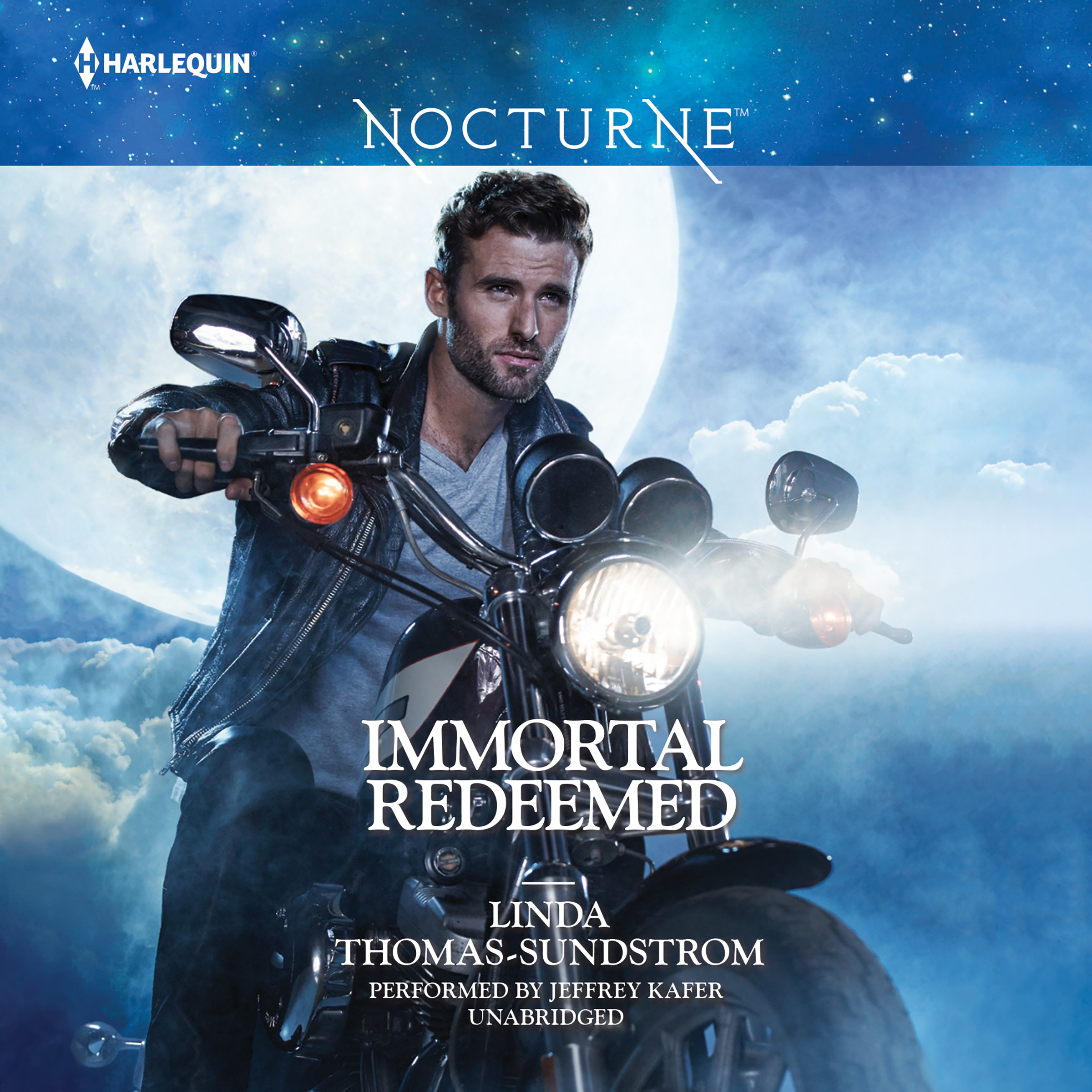 Printable Immortal Redeemed Audiobook Cover Art