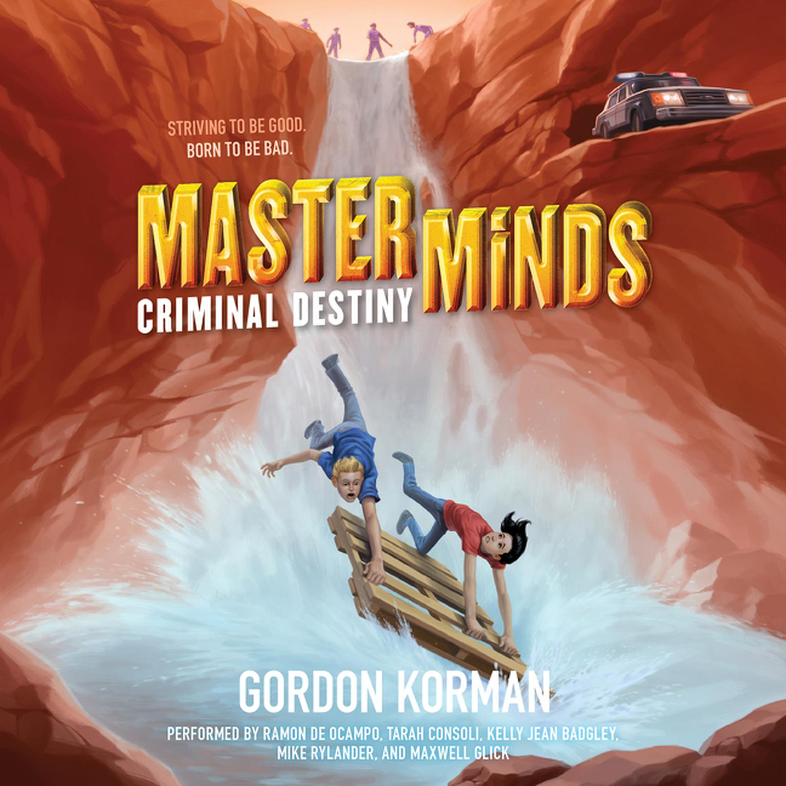 Printable Masterminds: Criminal Destiny Audiobook Cover Art