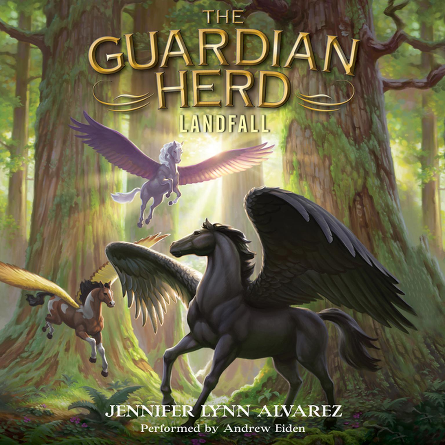 Printable Landfall Audiobook Cover Art