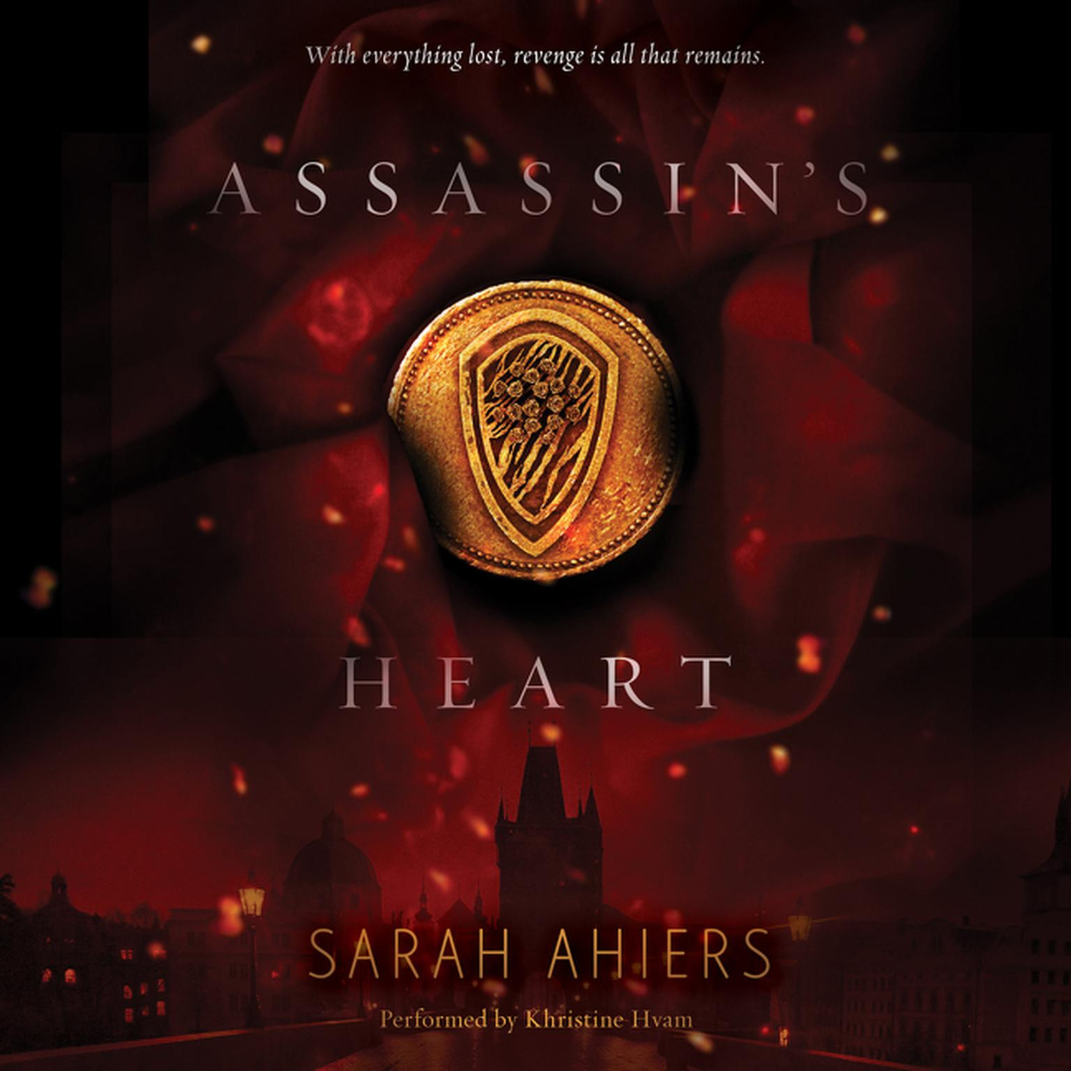 Printable Assassin's Heart Audiobook Cover Art