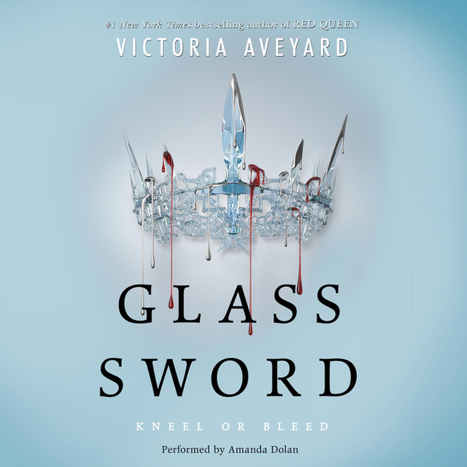 Printable Glass Sword Audiobook Cover Art