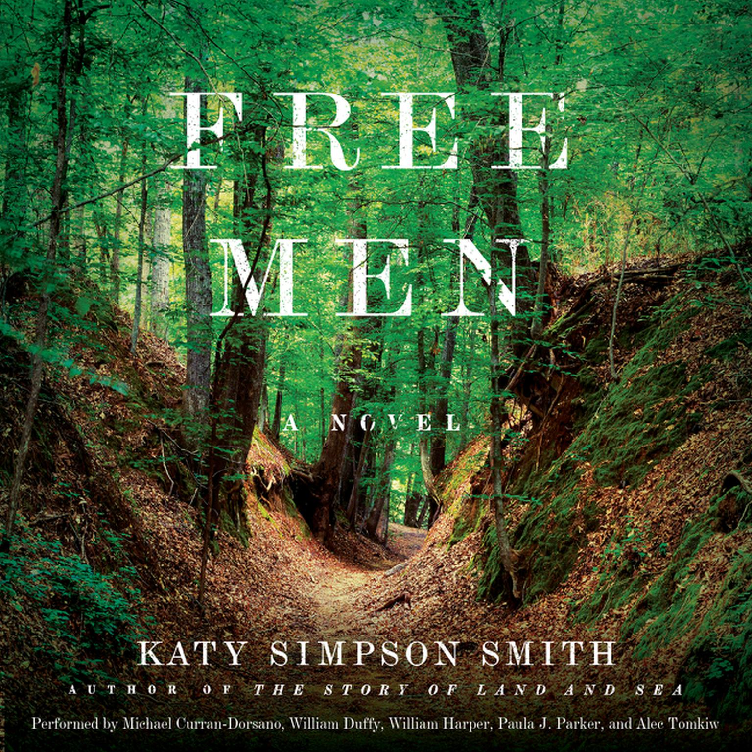 Printable Free Men: A Novel Audiobook Cover Art