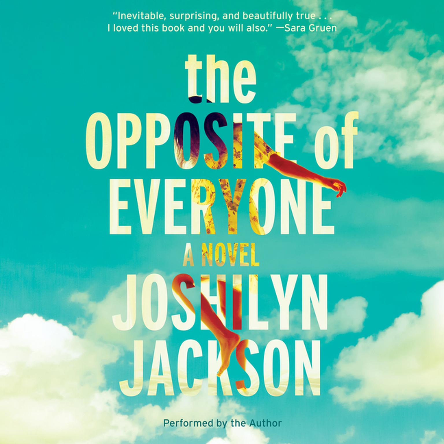 Printable The Opposite of Everyone: A Novel Audiobook Cover Art