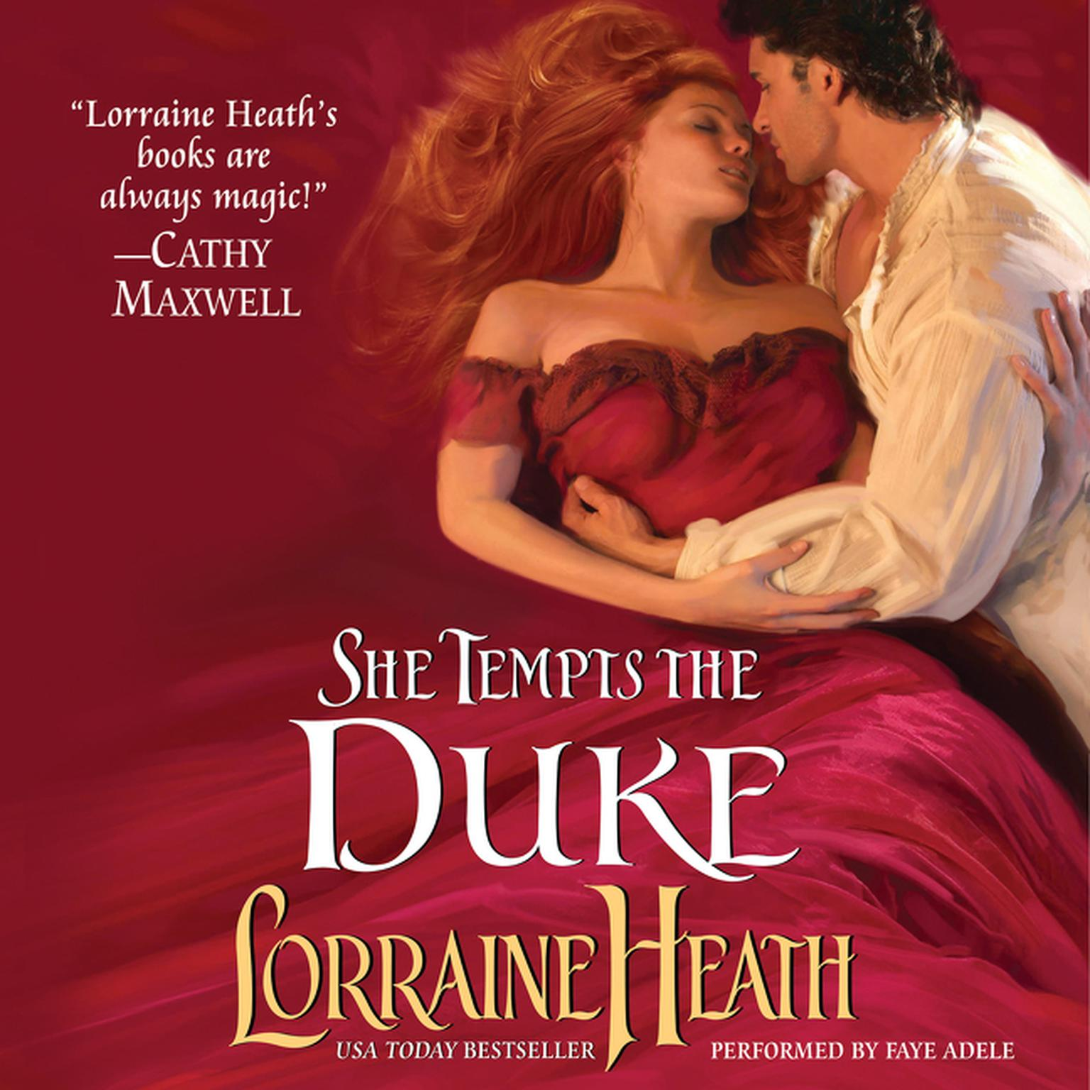 Printable She Tempts the Duke Audiobook Cover Art