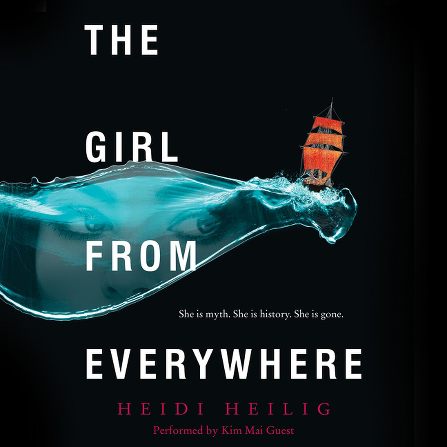 Printable The Girl from Everywhere Audiobook Cover Art