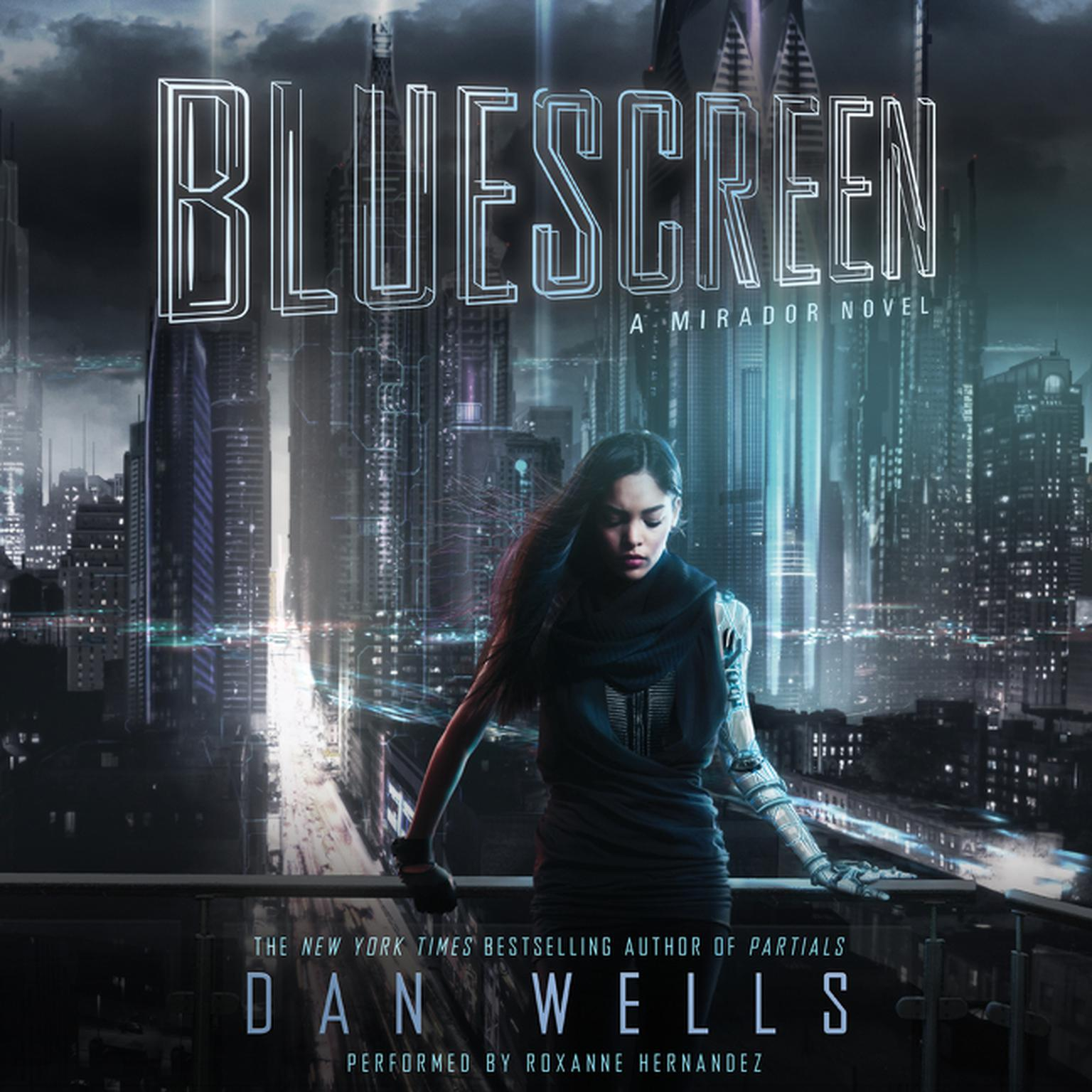 Printable Bluescreen Audiobook Cover Art