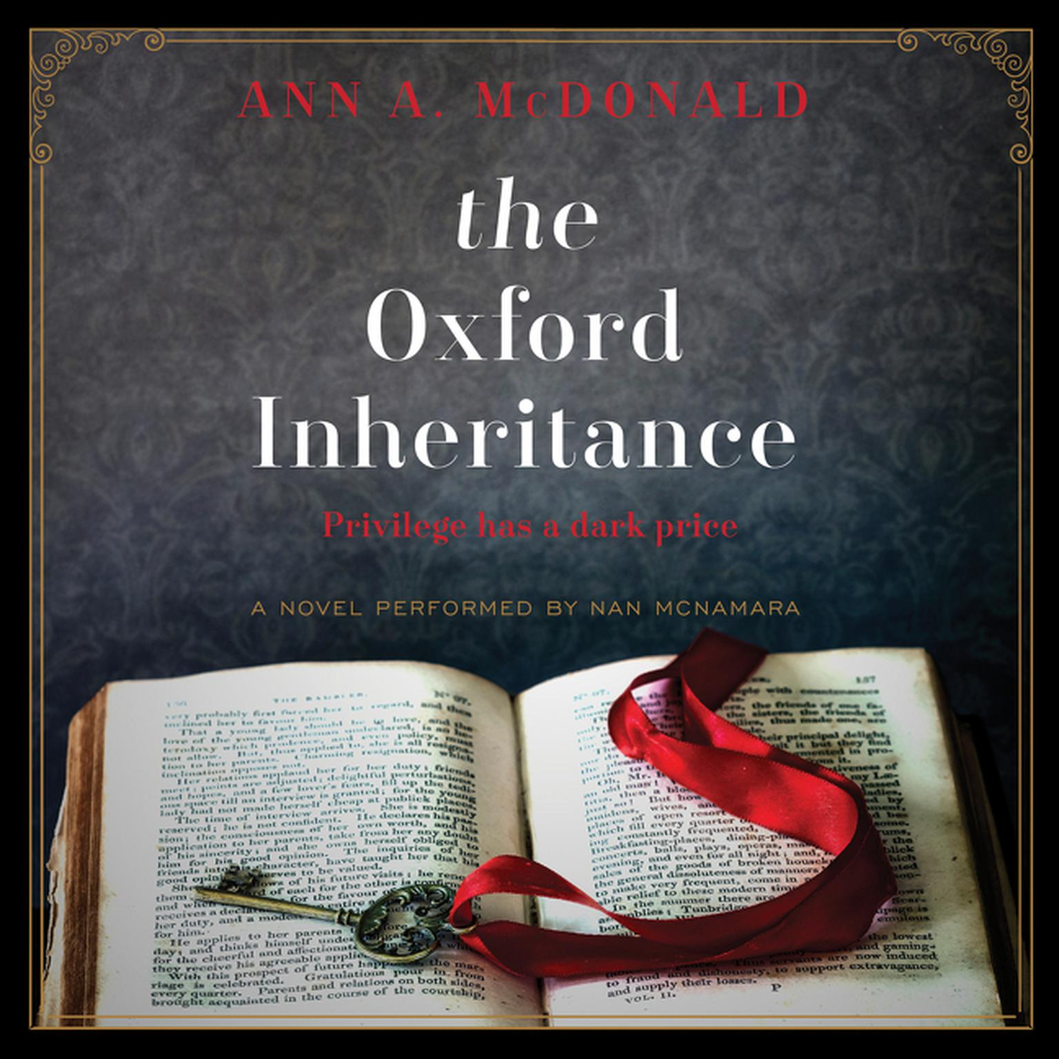 Printable The Oxford Inheritance: A Novel Audiobook Cover Art