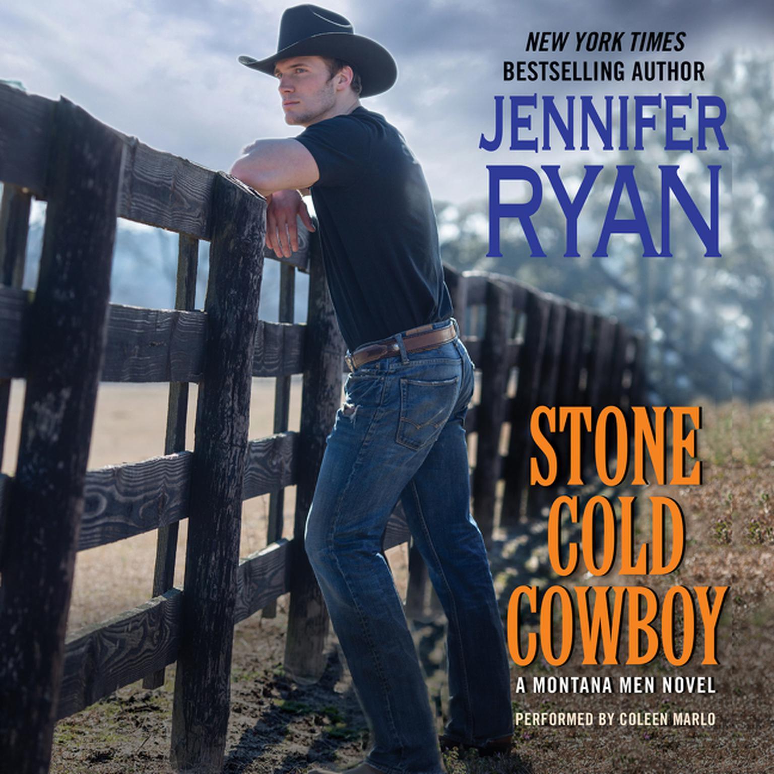 Printable Stone Cold Cowboy: A Montana Men Novel Audiobook Cover Art