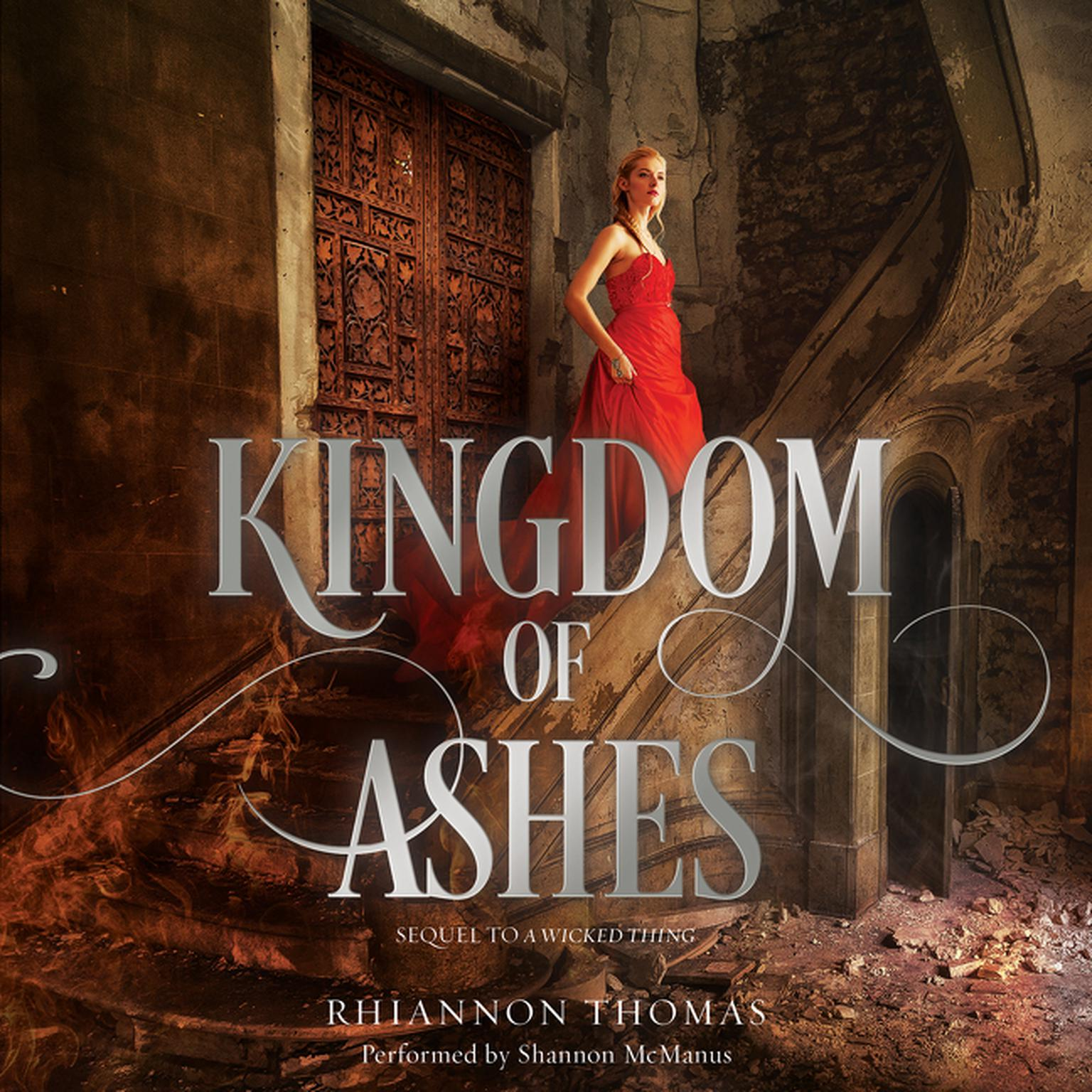 Printable Kingdom of Ashes Audiobook Cover Art