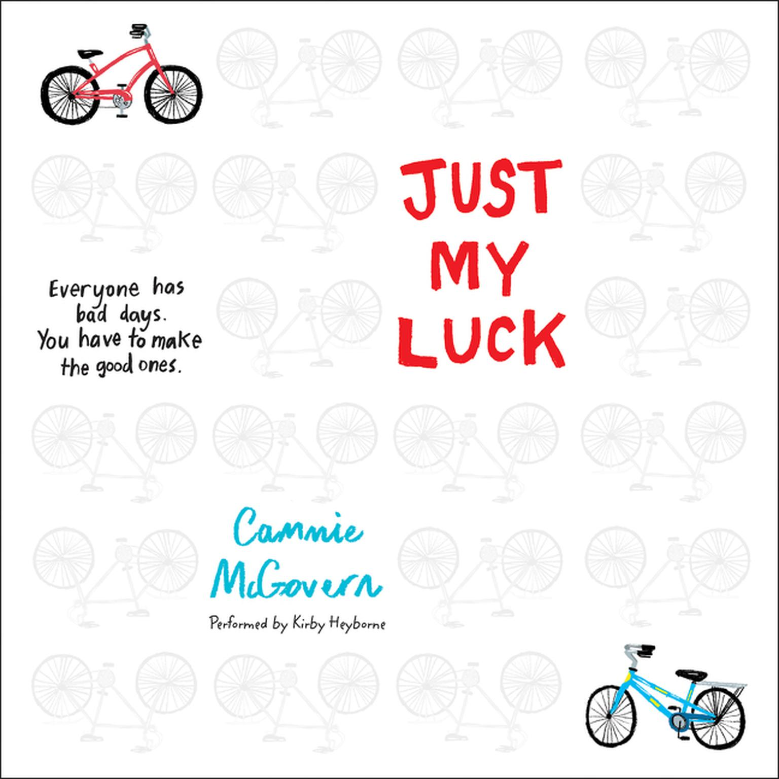 Printable Just My Luck Audiobook Cover Art