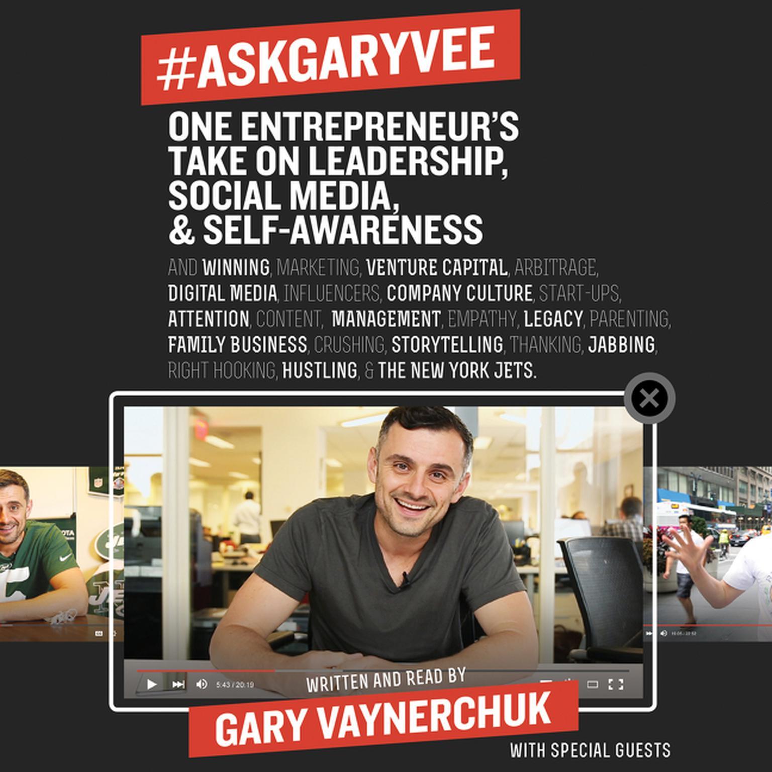 Printable #AskGaryVee: One Entrepreneur's Take on Leadership, Social Media, and Self-Awareness Audiobook Cover Art
