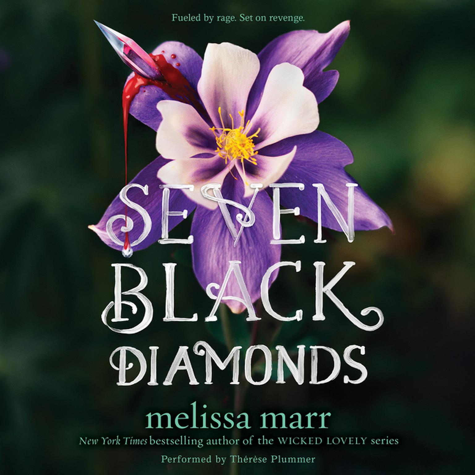 Printable Seven Black Diamonds Audiobook Cover Art