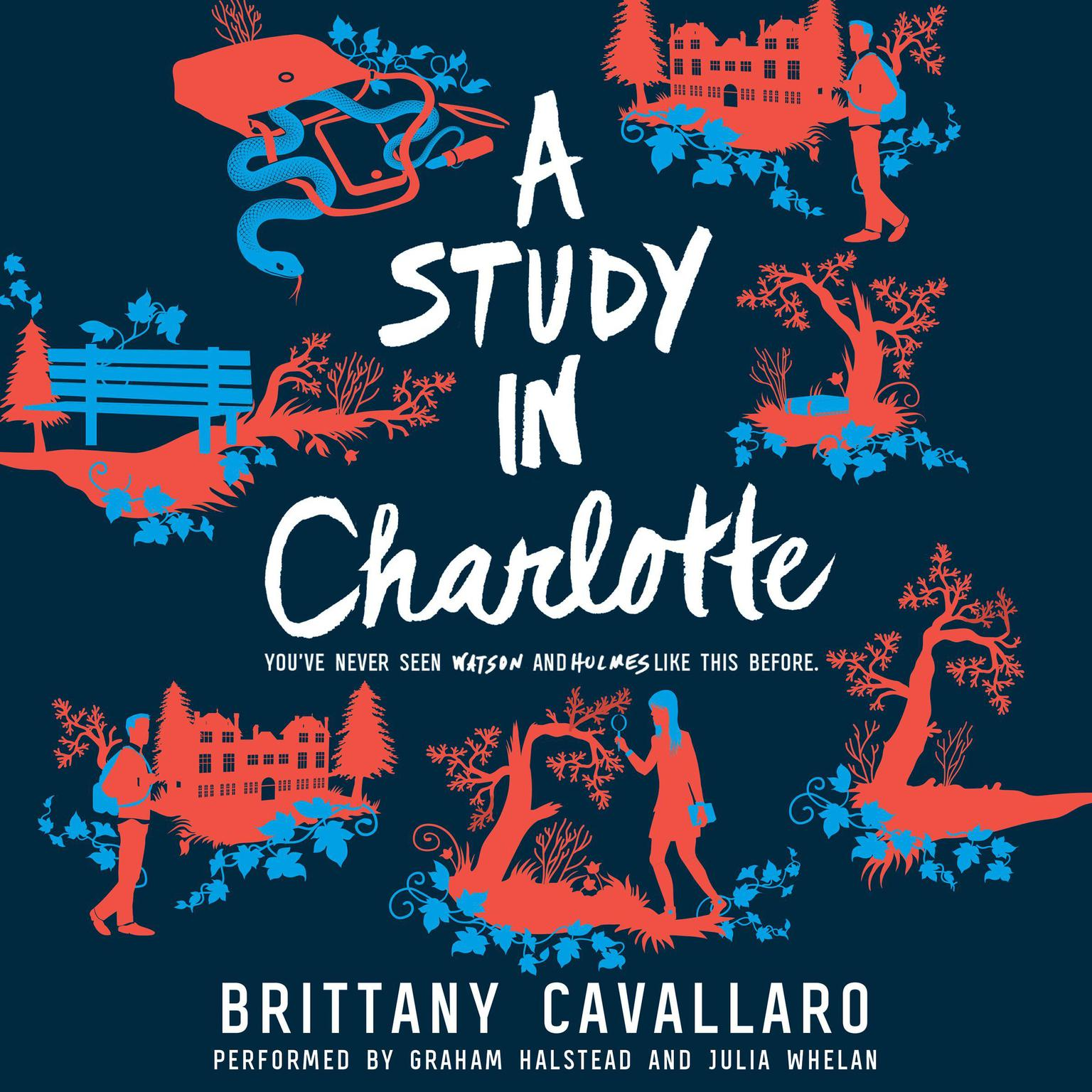 Printable A Study in Charlotte Audiobook Cover Art