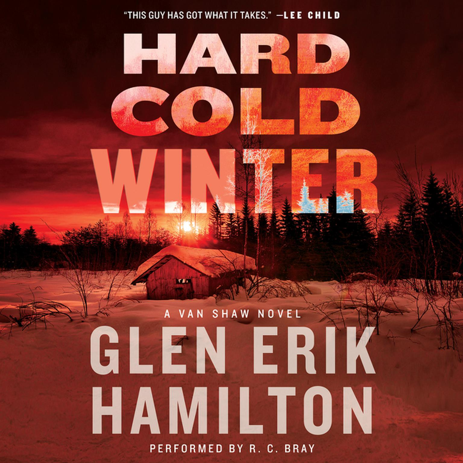 Printable Hard Cold Winter: A Van Shaw Novel Audiobook Cover Art
