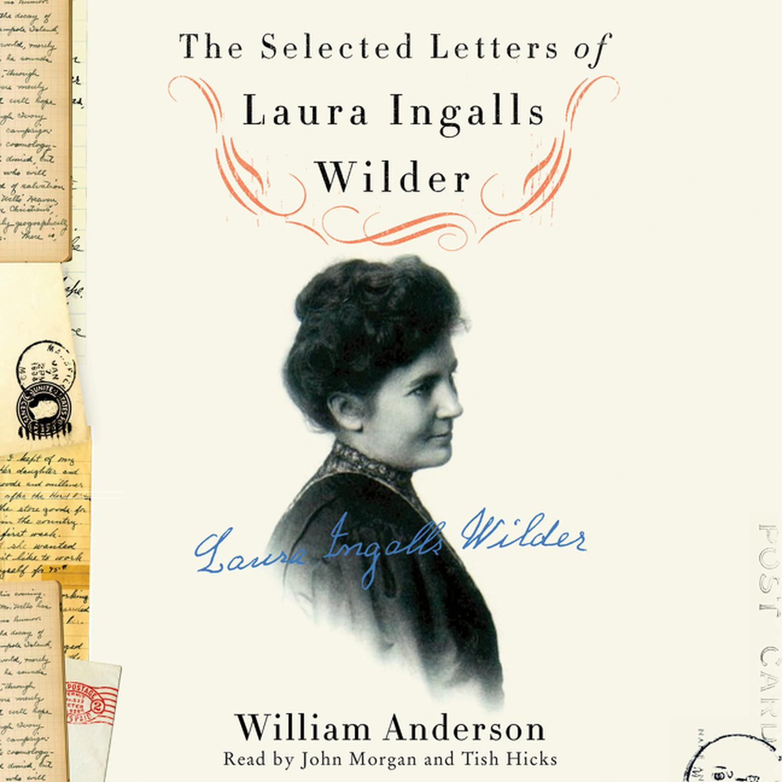 Printable The Selected Letters of Laura Ingalls Wilder: A Pioneer's Correspondence Audiobook Cover Art