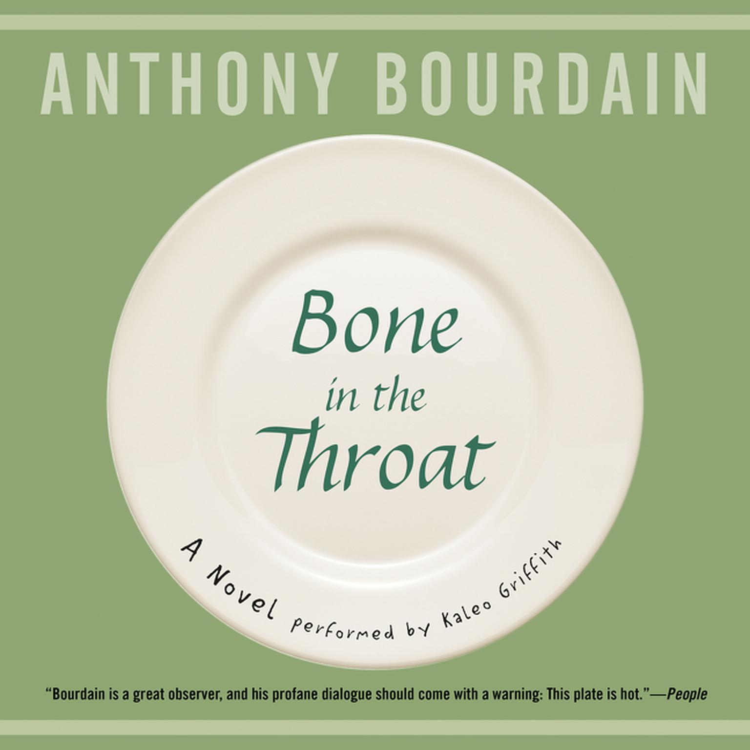 Printable Bone in the Throat Audiobook Cover Art