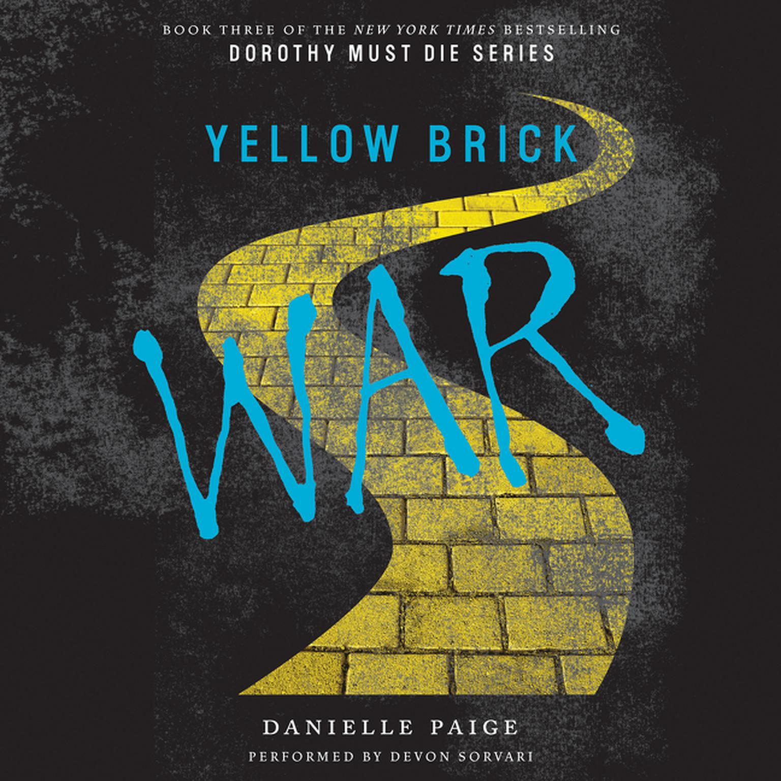 Printable Yellow Brick War Audiobook Cover Art