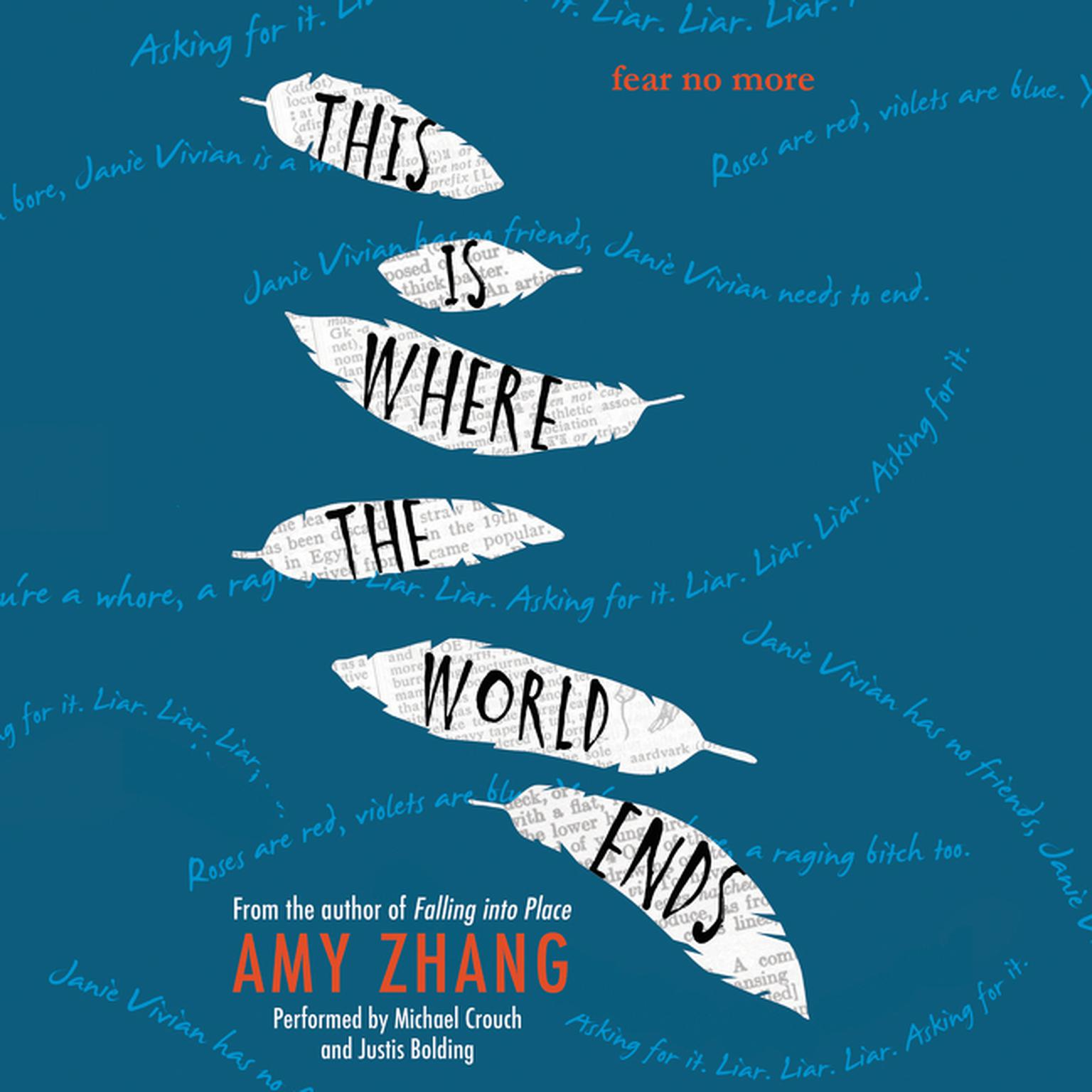 Printable This Is Where the World Ends Audiobook Cover Art