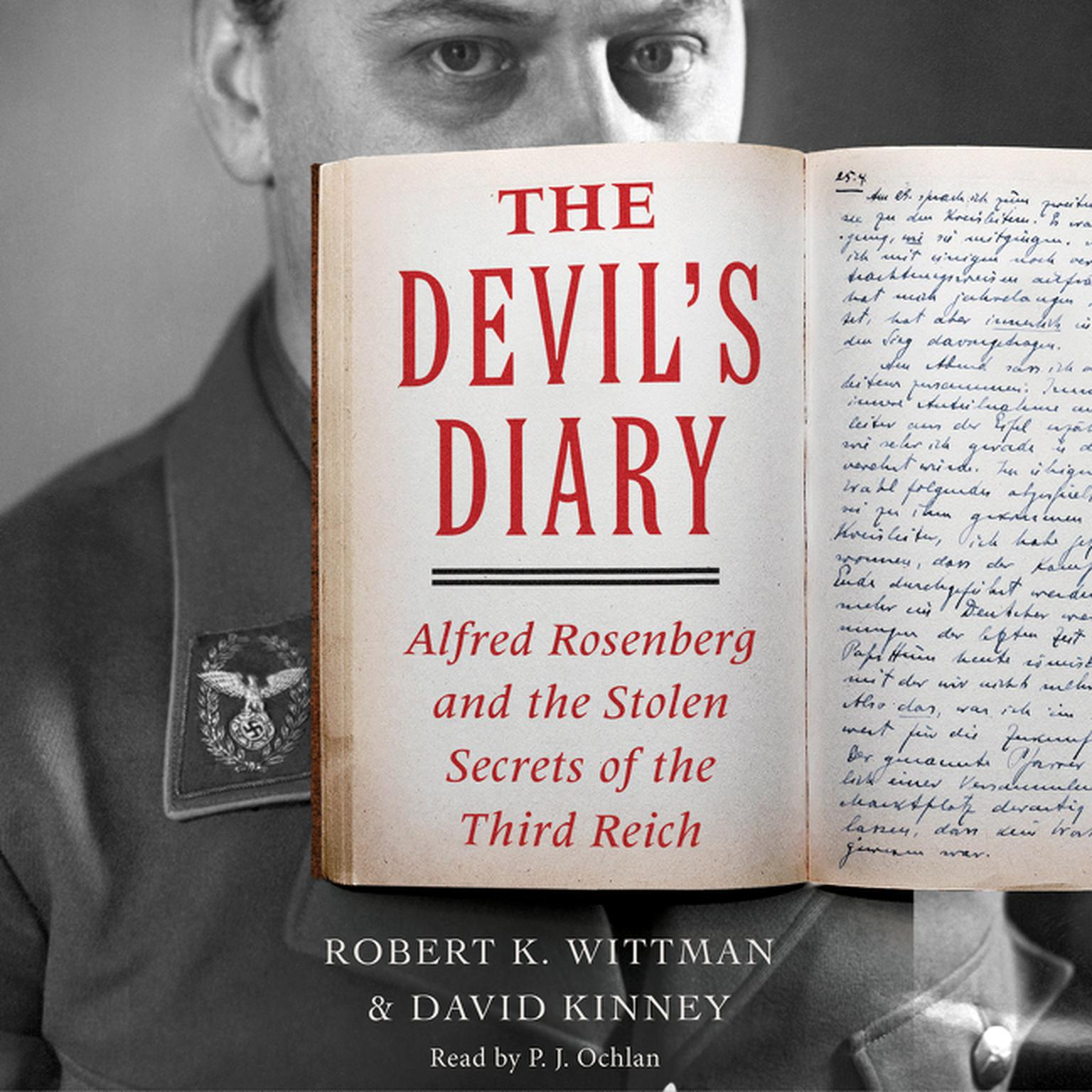Printable The Devil's Diary: Alfred Rosenberg and the Stolen Secrets of the Third Reich Audiobook Cover Art