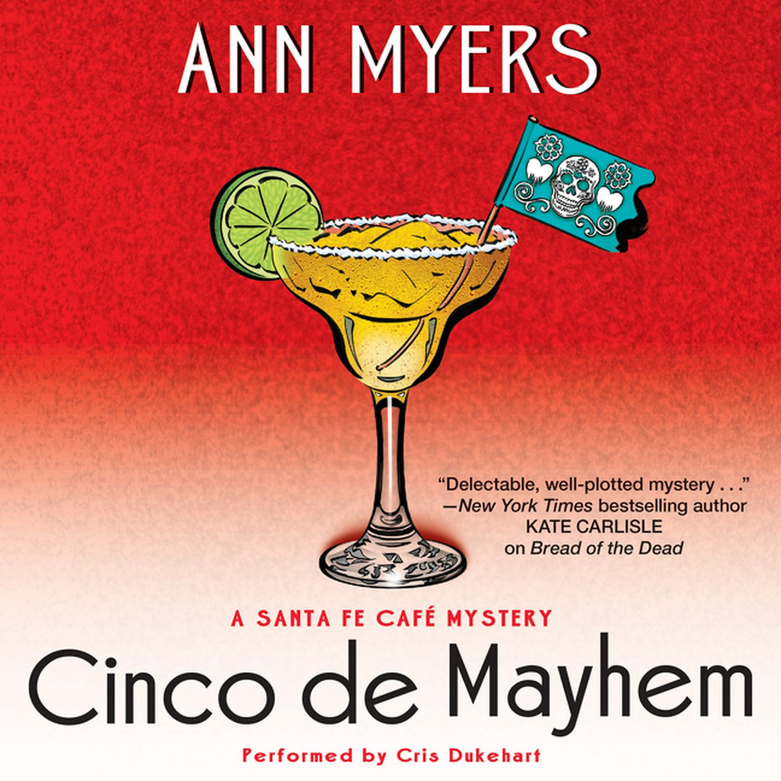 Printable Cinco de Mayhem: A Sante Fe Cafe Mystery Audiobook Cover Art
