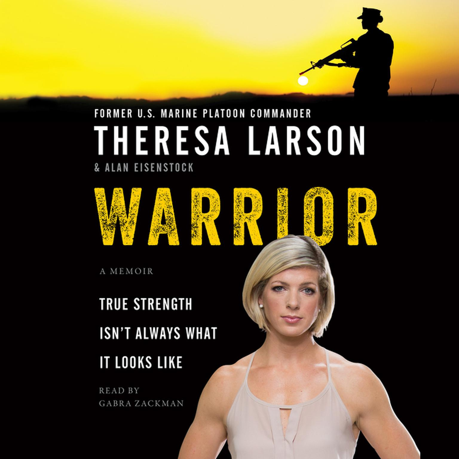 Printable Warrior: A Memoir Audiobook Cover Art