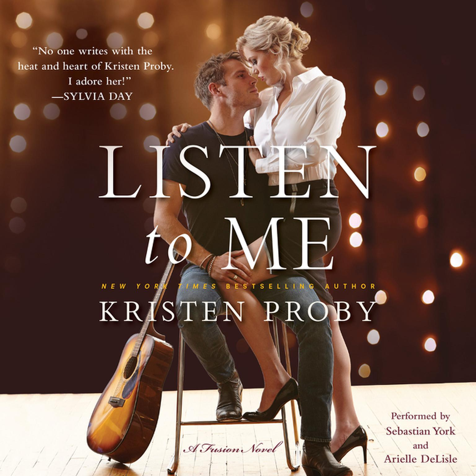 Printable Listen to Me: A Fusion Novel Audiobook Cover Art