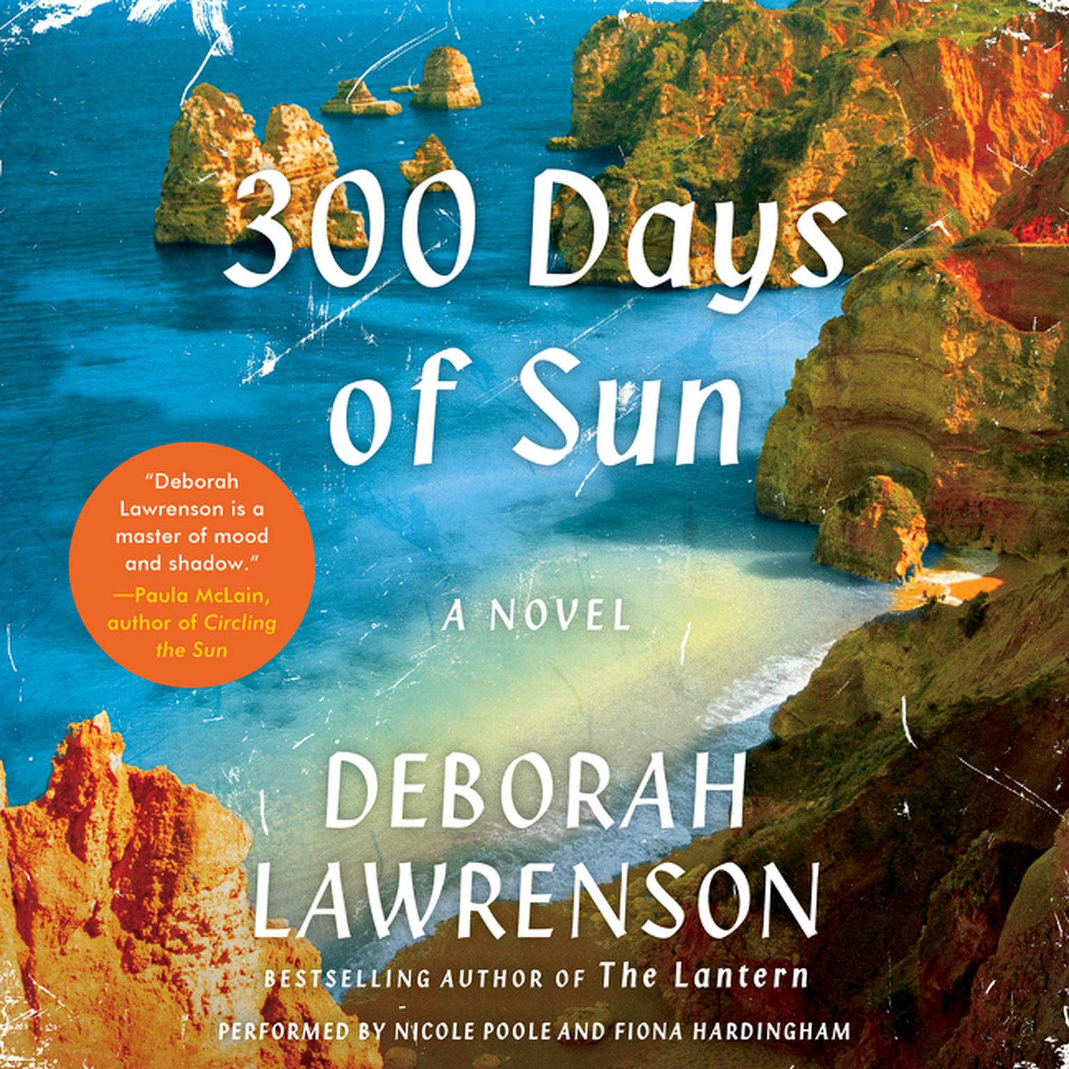 Printable 300 Days of Sun: A Novel Audiobook Cover Art