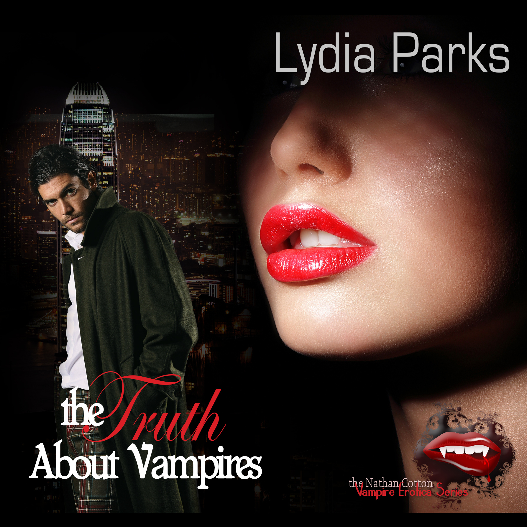 Printable The Truth about Vampires Audiobook Cover Art
