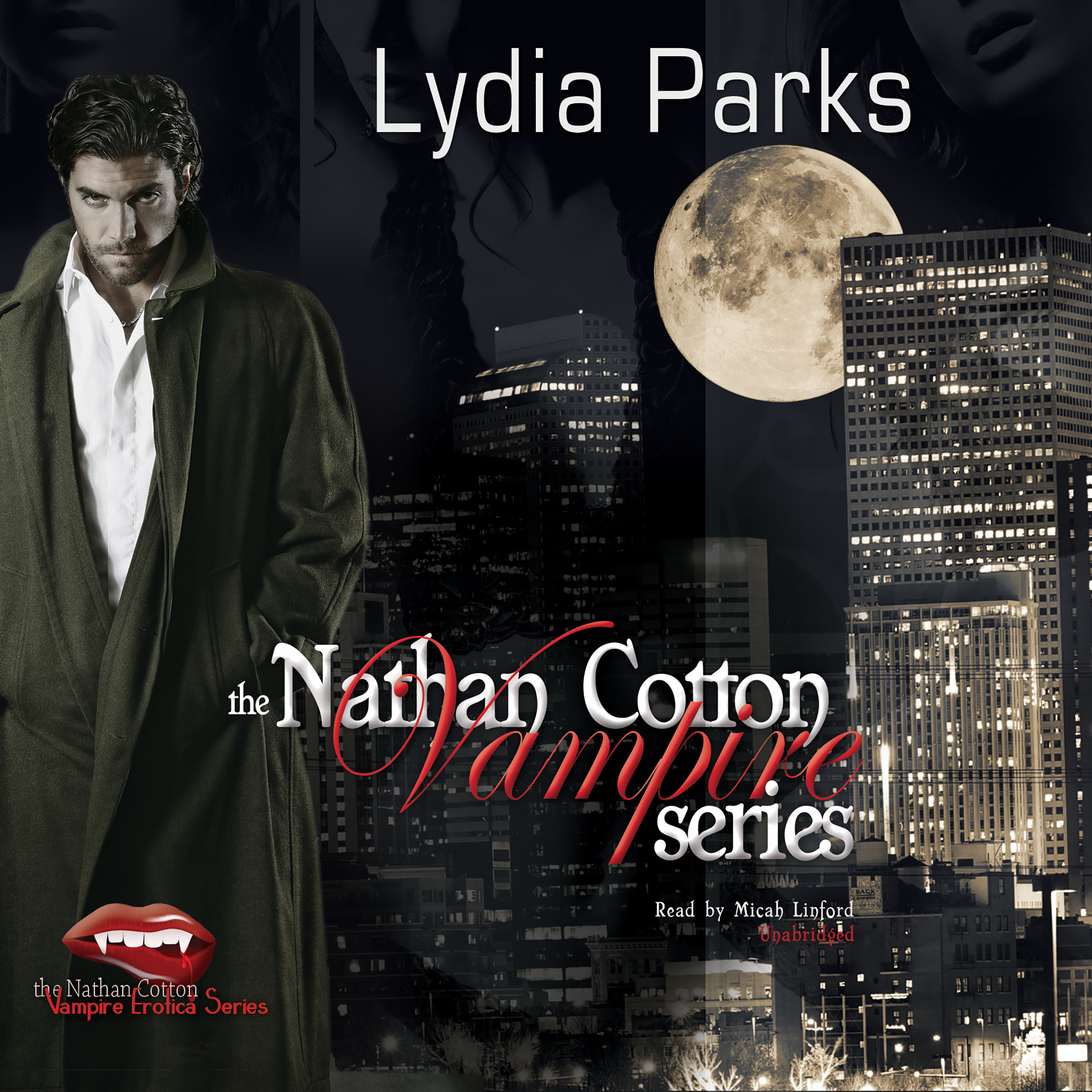 Printable The Nathan Cotton Vampire Series Audiobook Cover Art