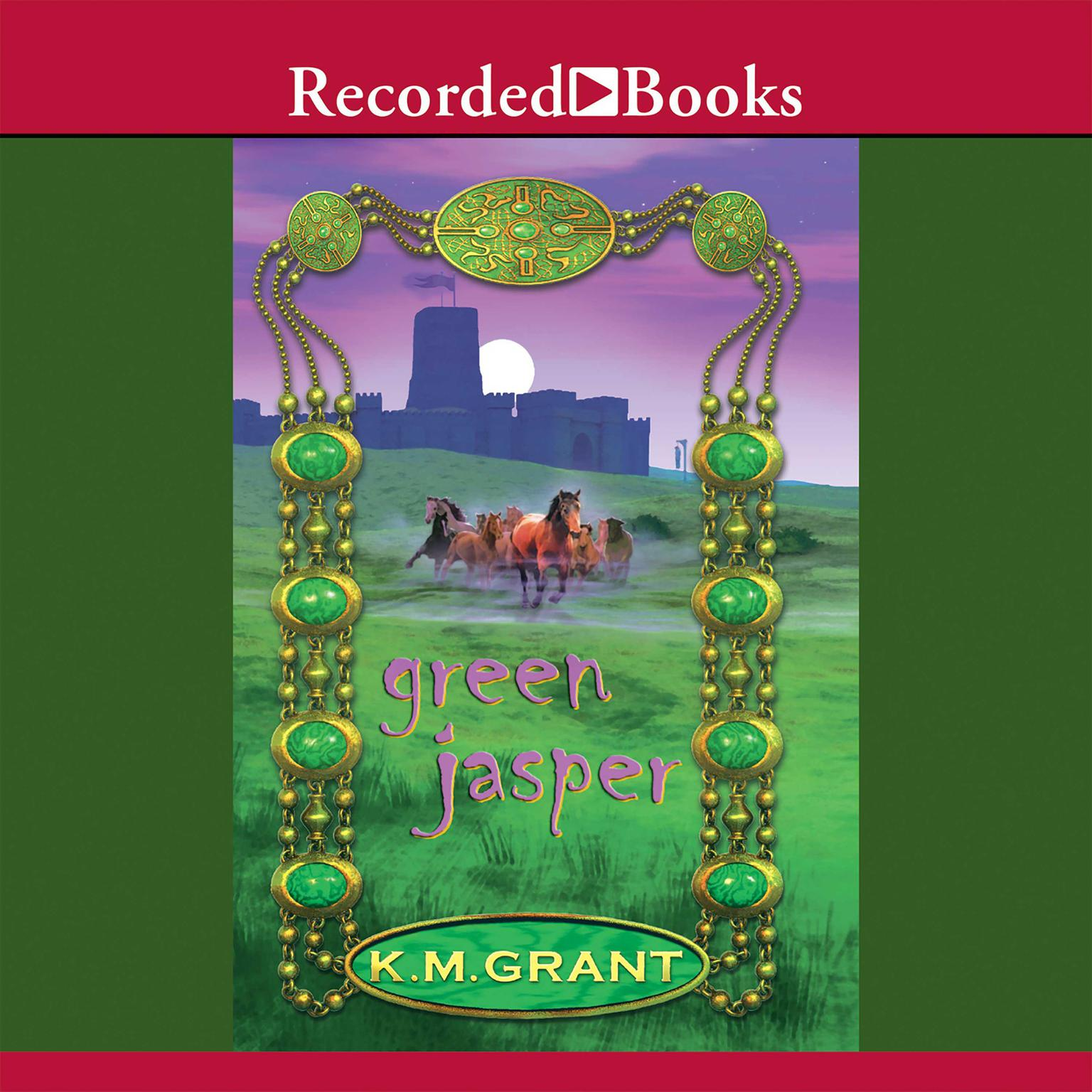 Printable Green Jasper Audiobook Cover Art