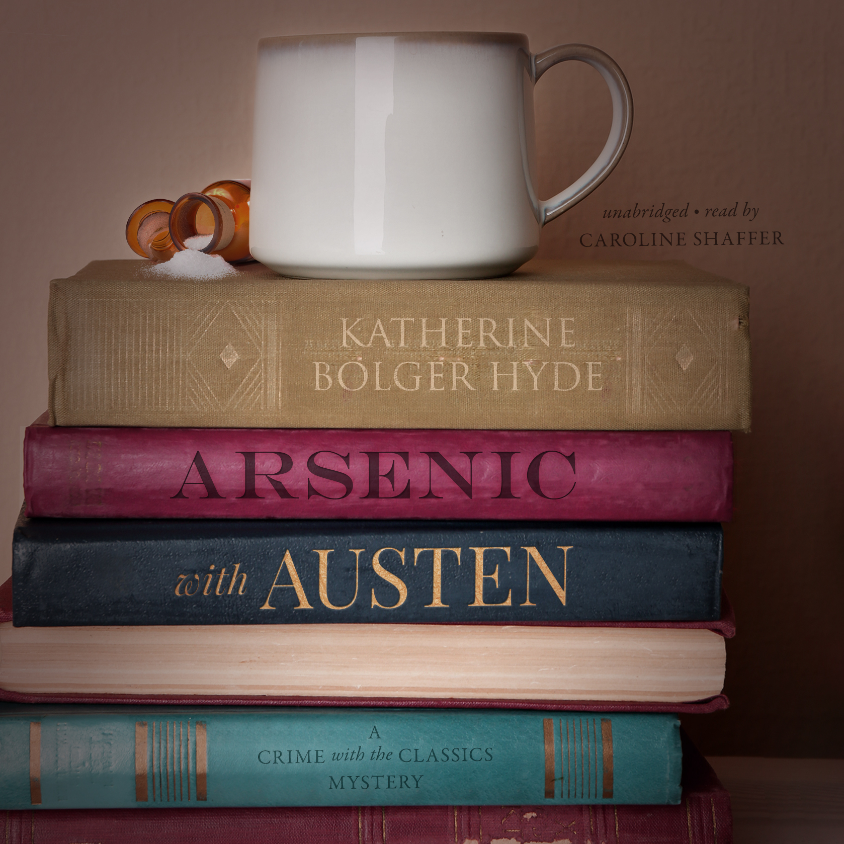 Printable Arsenic with Austen: A Crime with the Classics Mystery Audiobook Cover Art