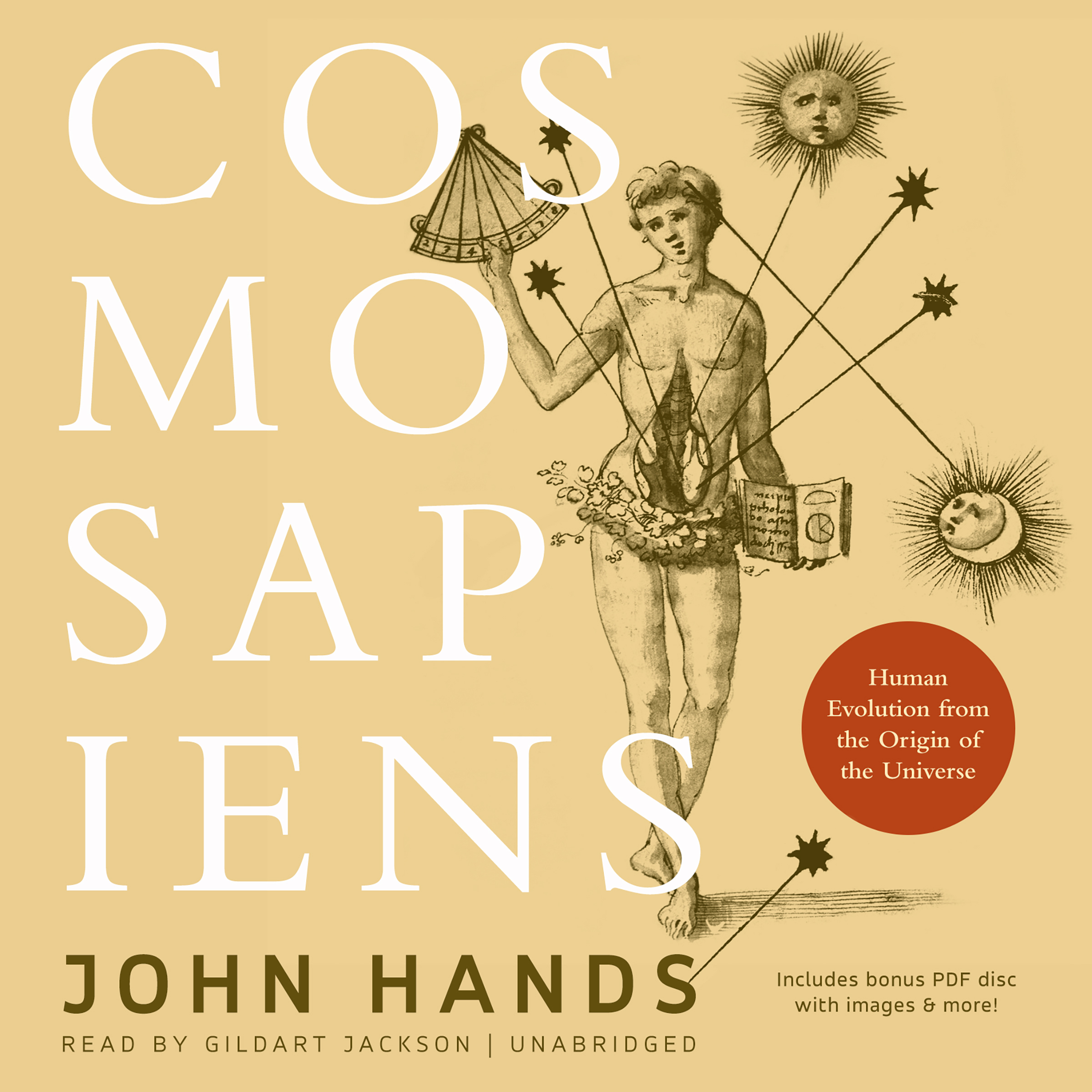 Printable Cosmosapiens: Human Evolution from the Origin of the Universe Audiobook Cover Art