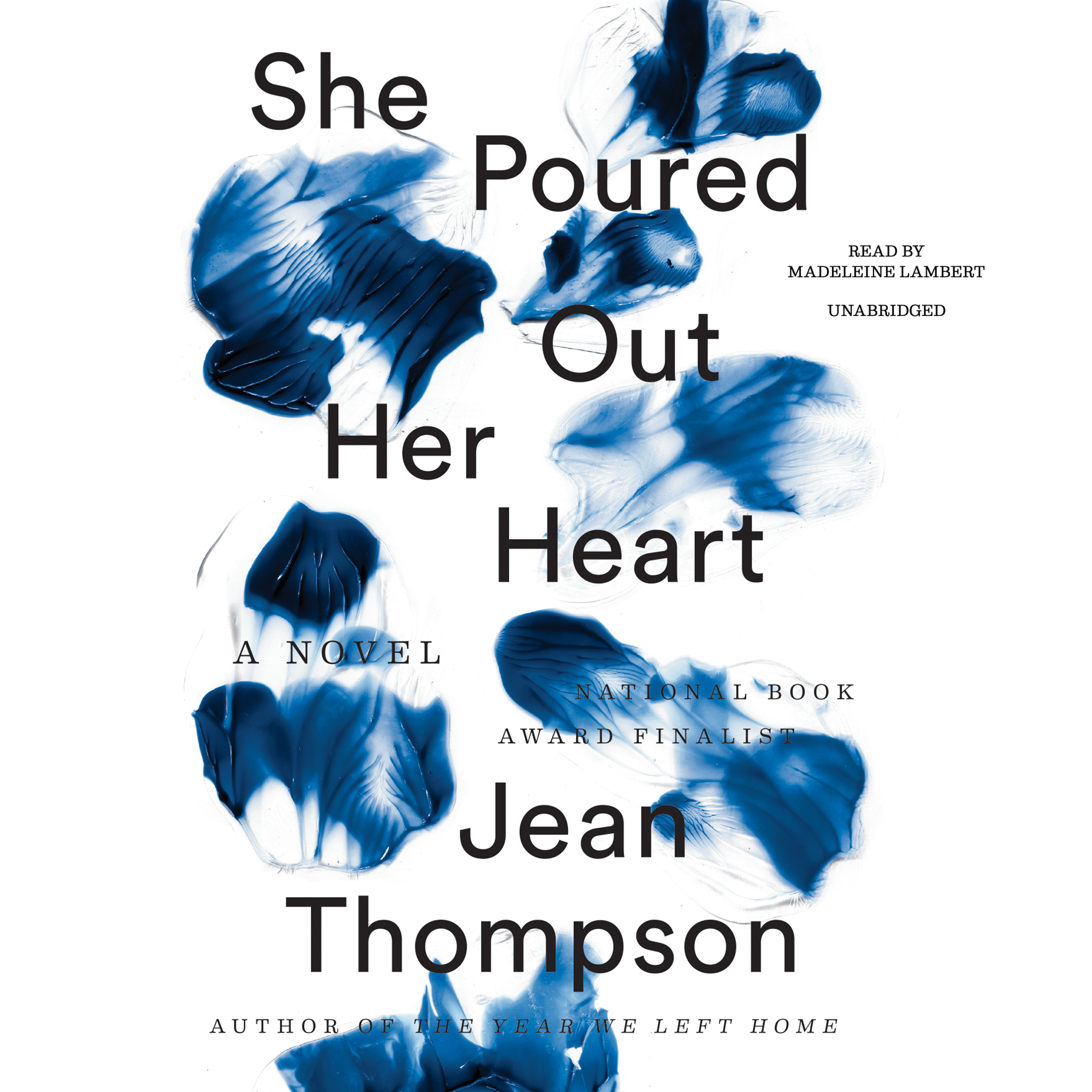 Printable She Poured Out Her Heart Audiobook Cover Art