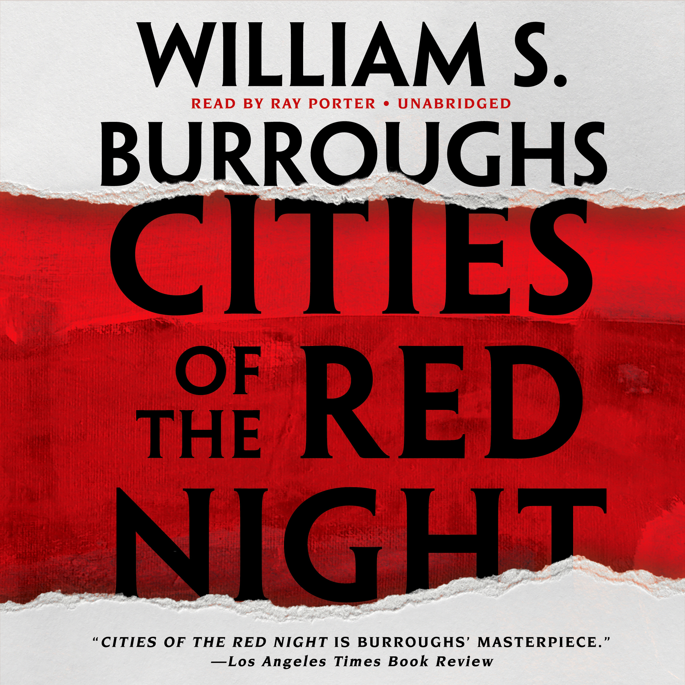 Printable Cities of the Red Night Audiobook Cover Art