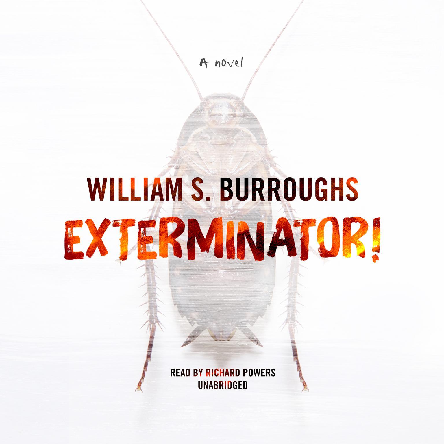 Printable Exterminator!: A Novel Audiobook Cover Art