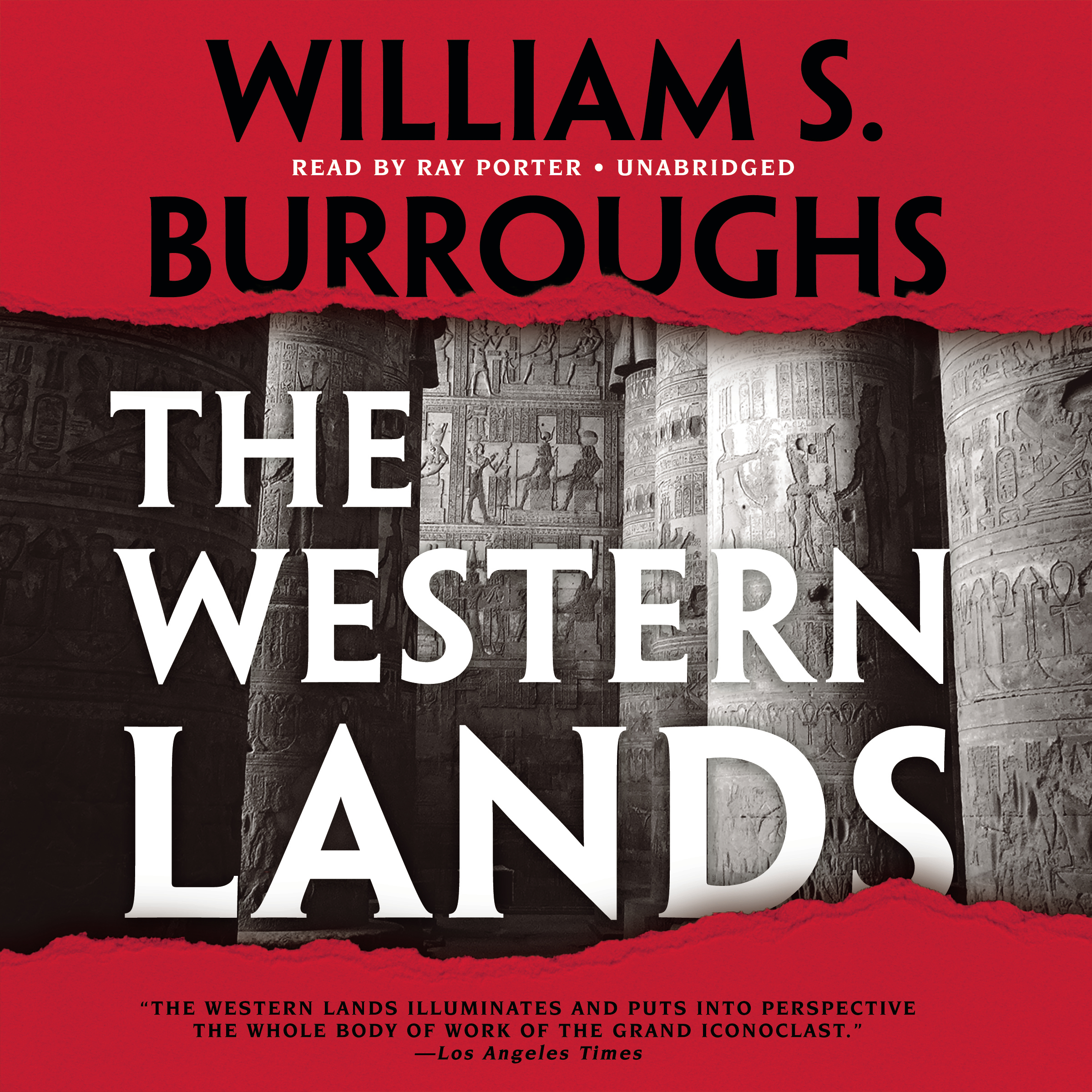 Printable The Western Lands Audiobook Cover Art