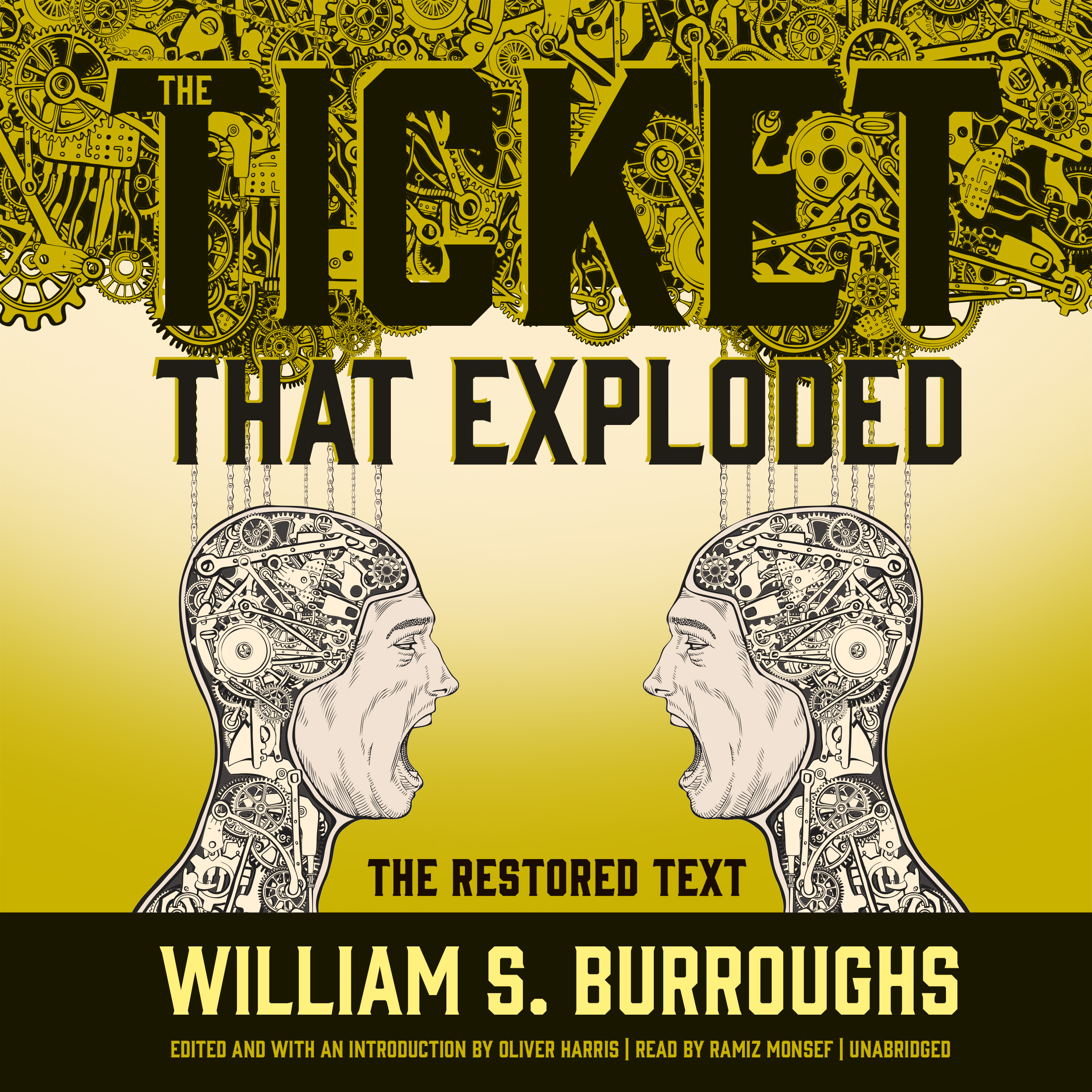 Printable The Ticket That Exploded: The Restored Text Audiobook Cover Art