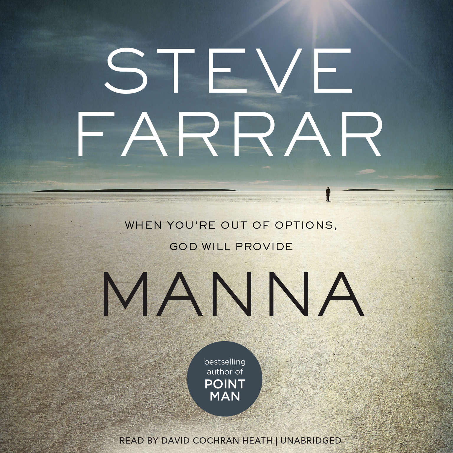 Printable Manna: When You're Out of Options, God Will Provide Audiobook Cover Art