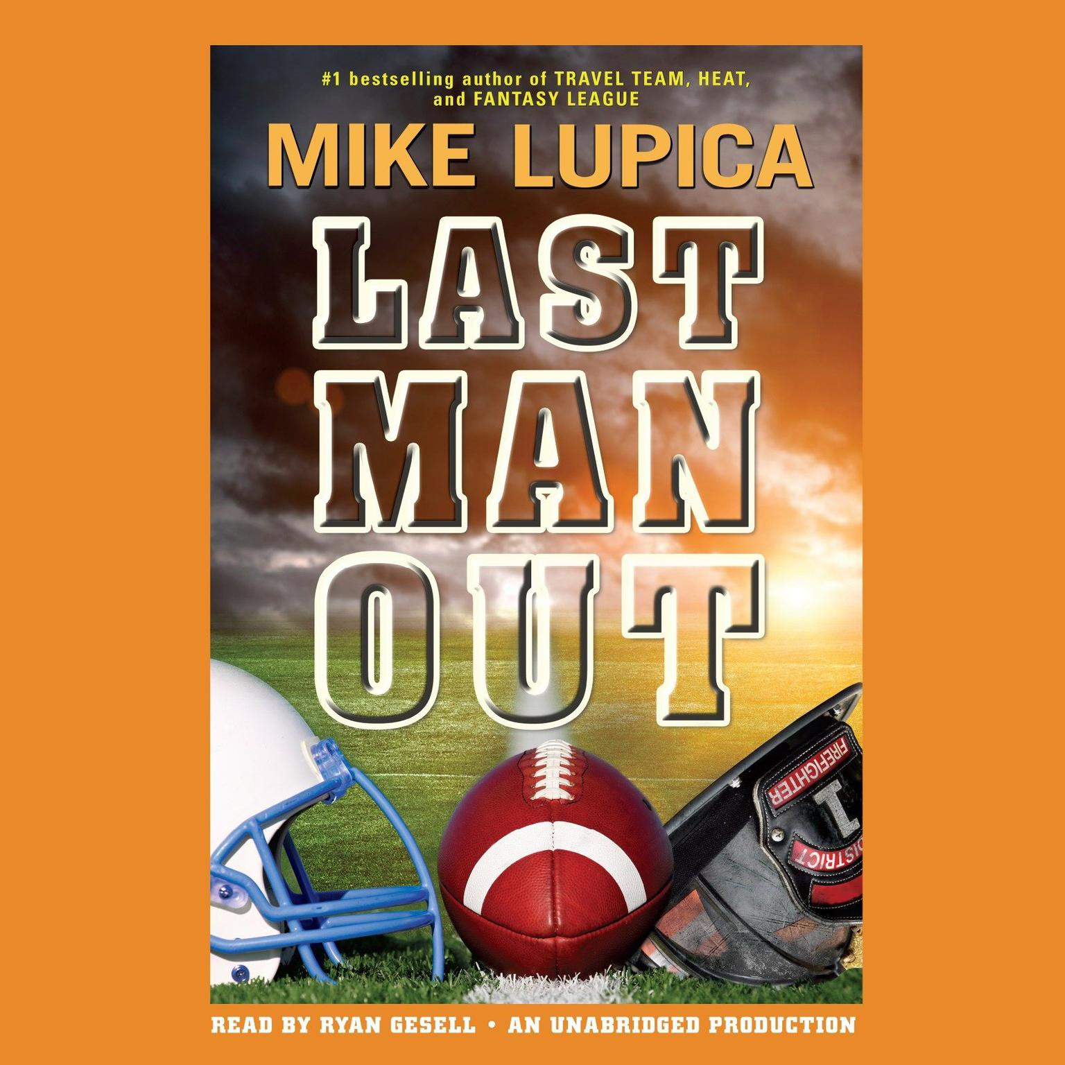 Printable Last Man Out Audiobook Cover Art