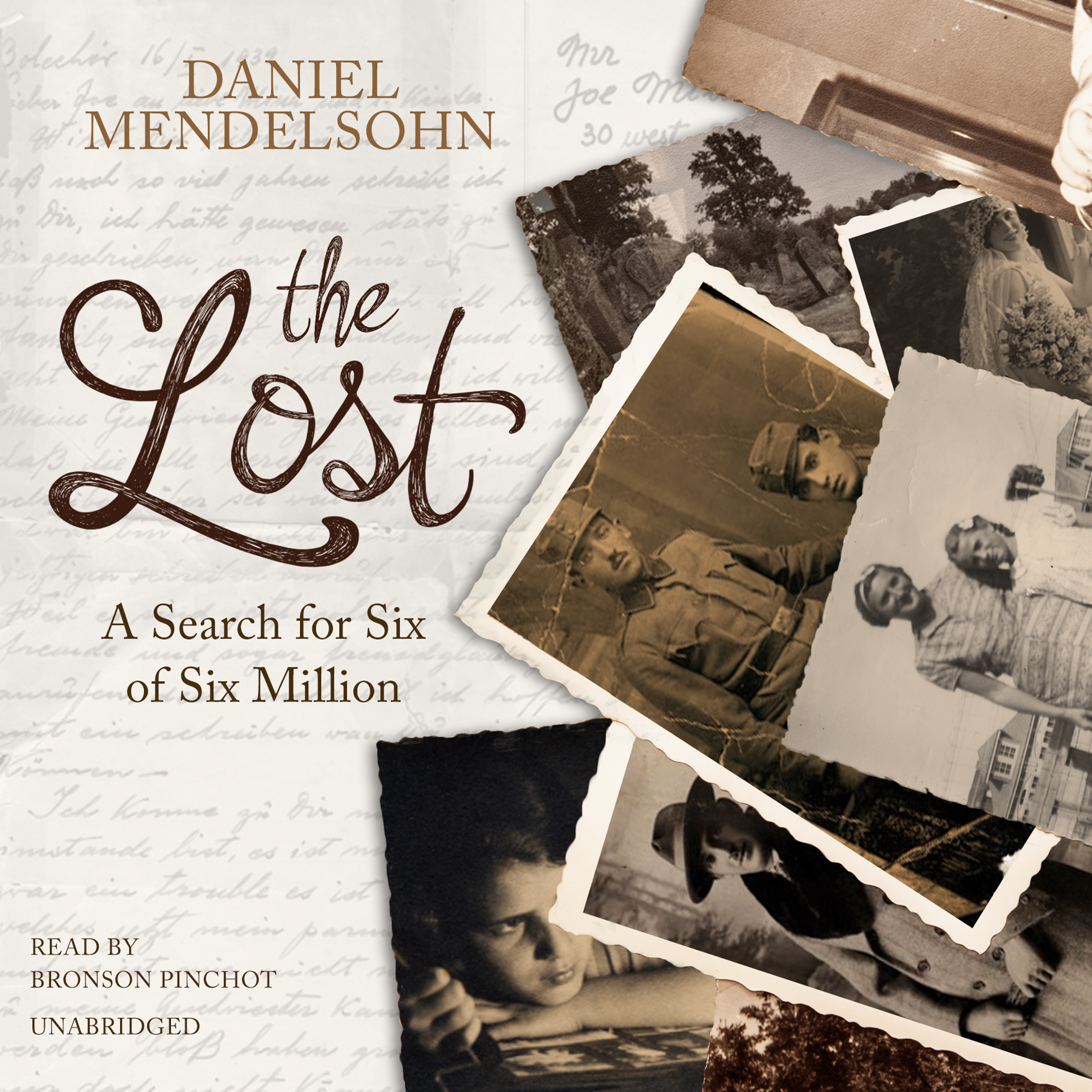 Printable The Lost: A Search for Six of Six Million Audiobook Cover Art
