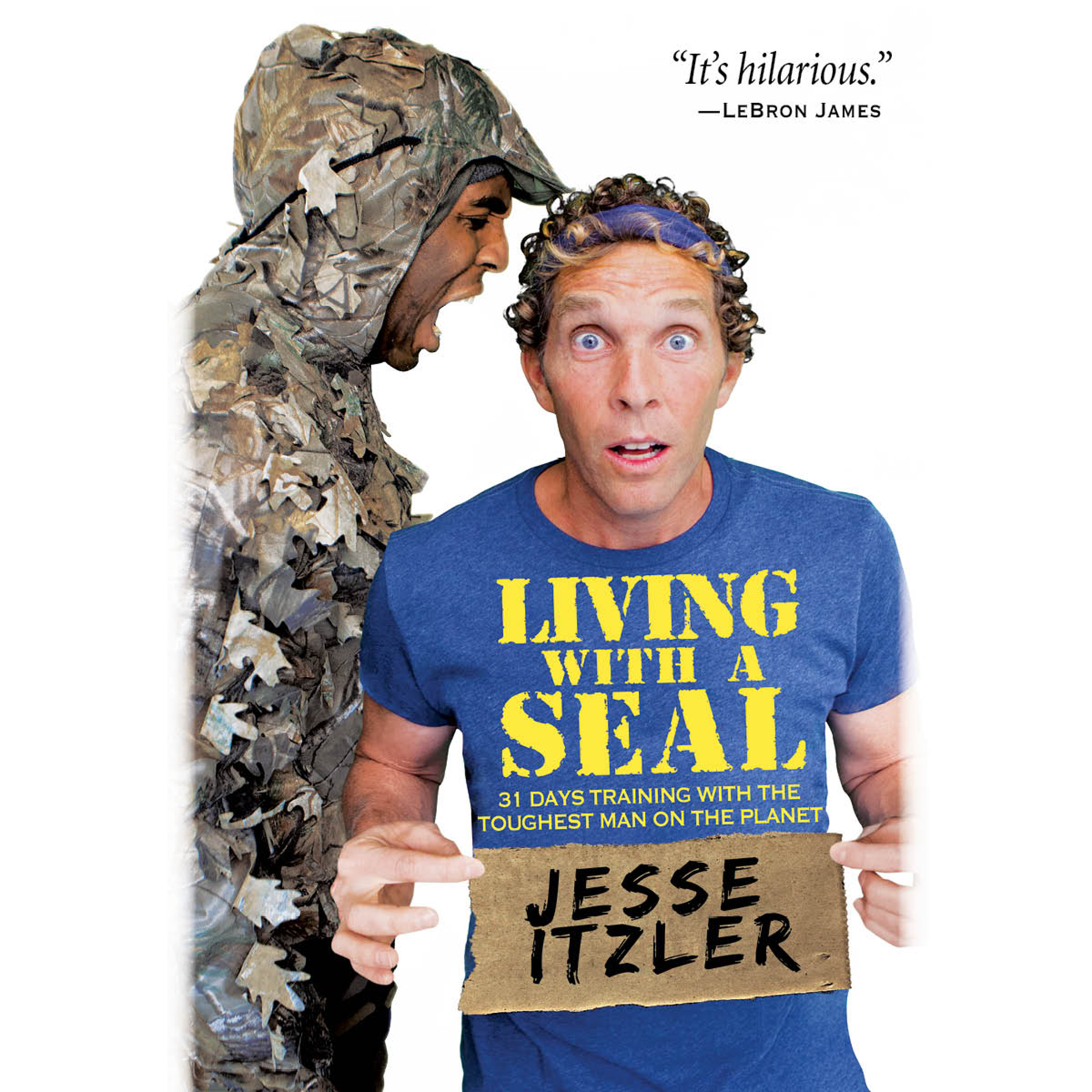 Printable Living with a SEAL: 31 Days Training with the Toughest Man on the Planet Audiobook Cover Art