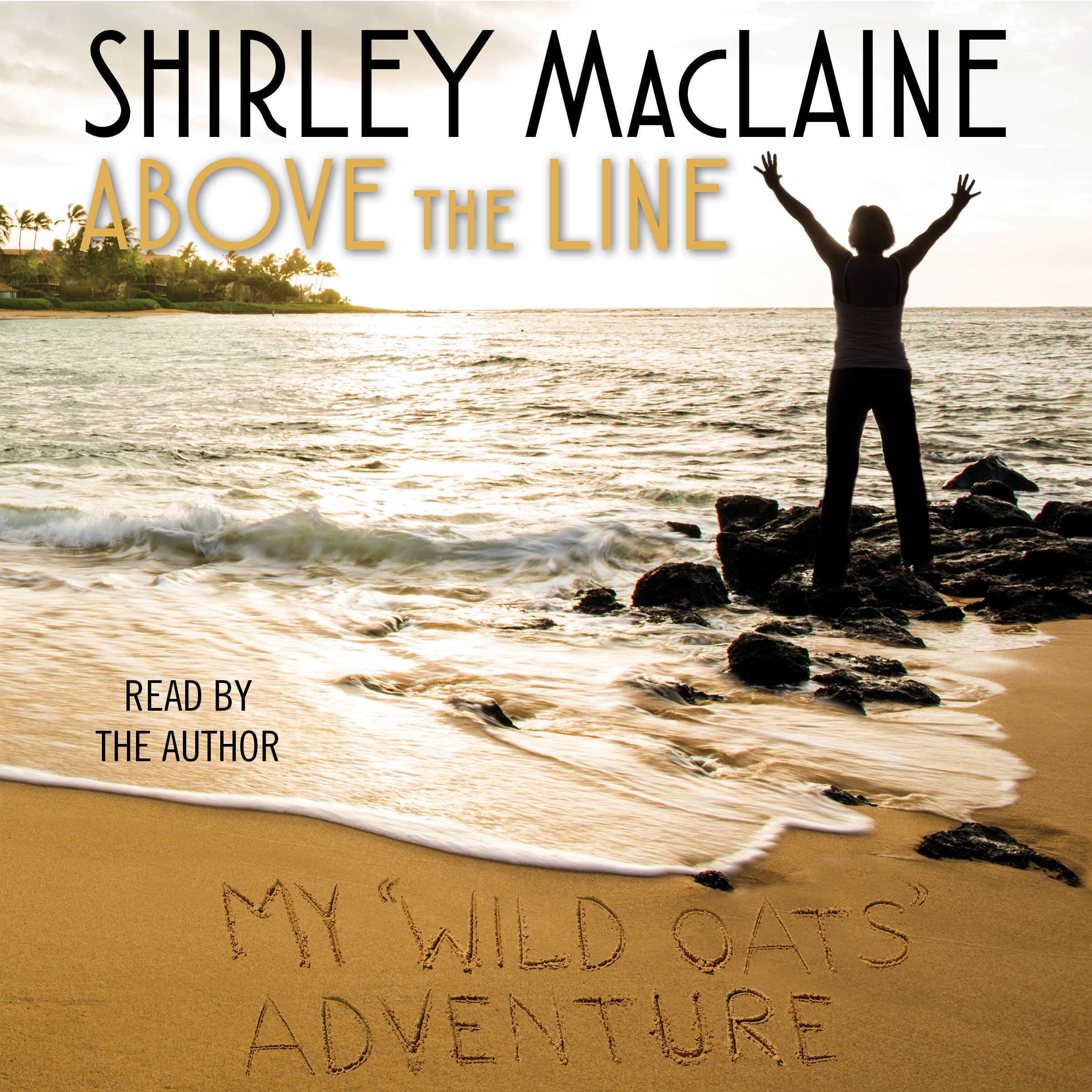 Printable Above the Line: My Wild Oats Adventure Audiobook Cover Art