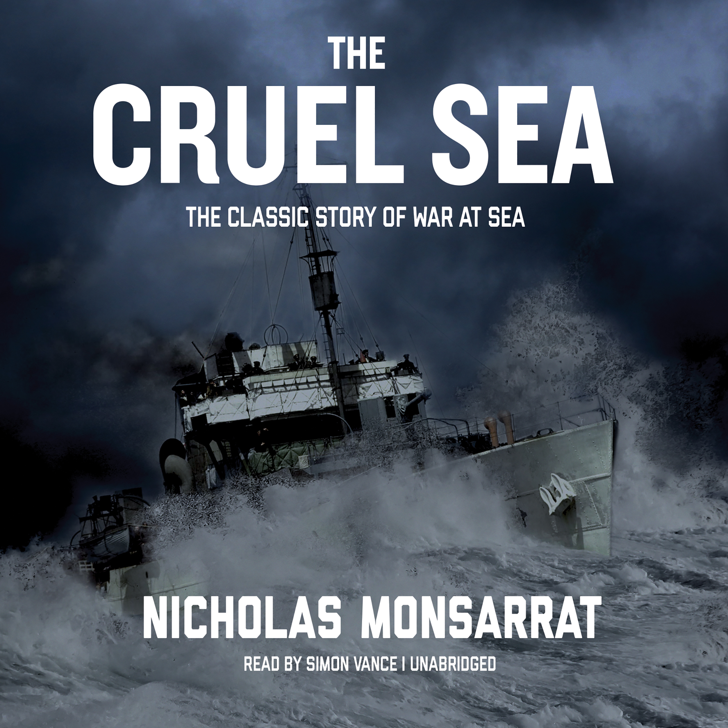 Printable The Cruel Sea Audiobook Cover Art
