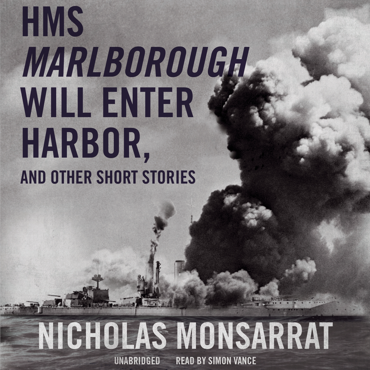 Printable HMS Marlborough Will Enter Harbor, and Other Short Stories Audiobook Cover Art