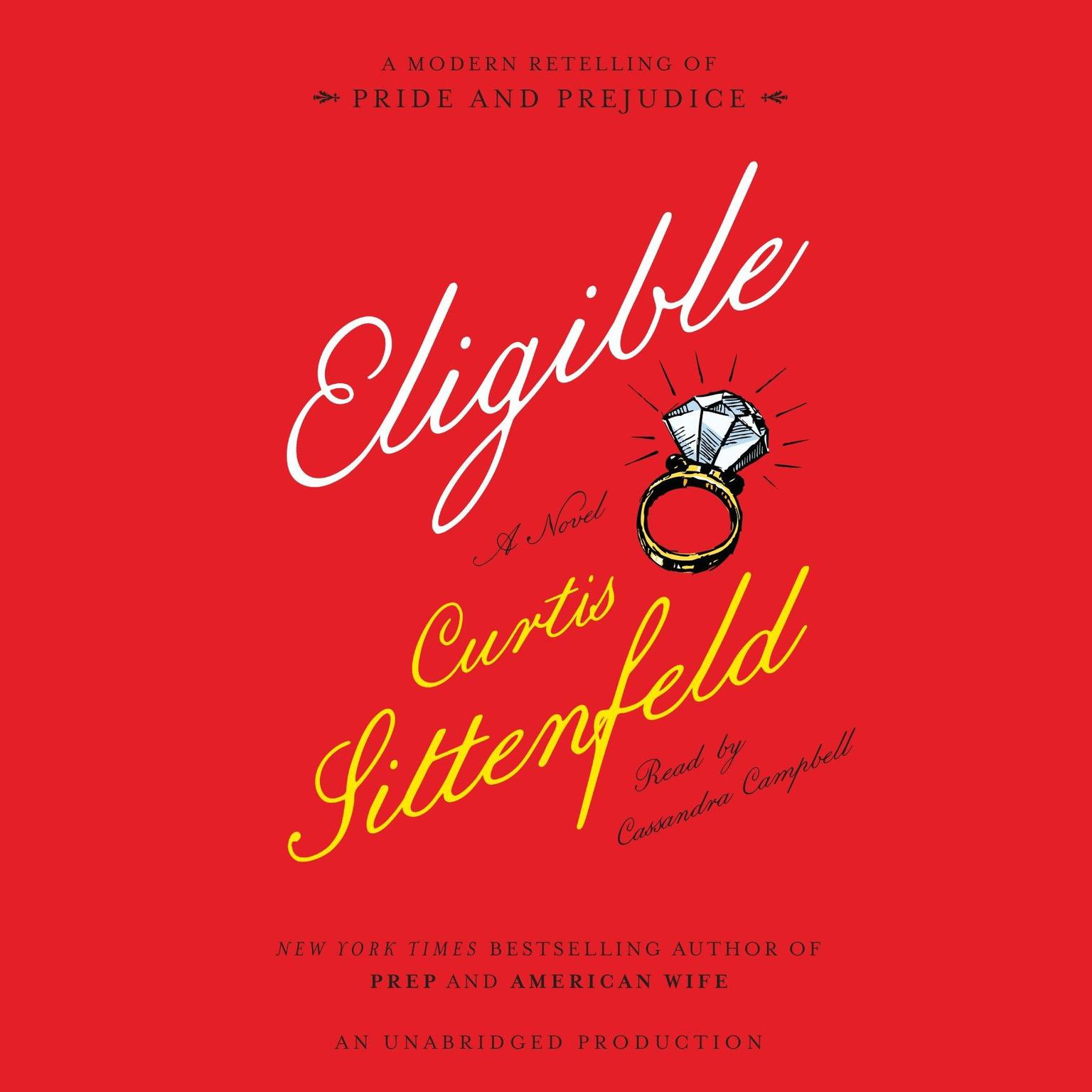 Printable Eligible: A modern retelling of Pride and Prejudice Audiobook Cover Art
