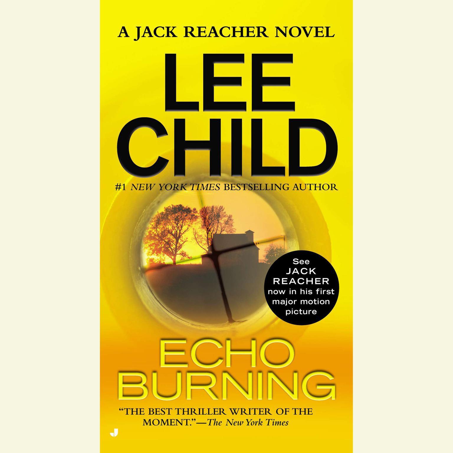 Printable Echo Burning: A Jack Reacher Novel Audiobook Cover Art