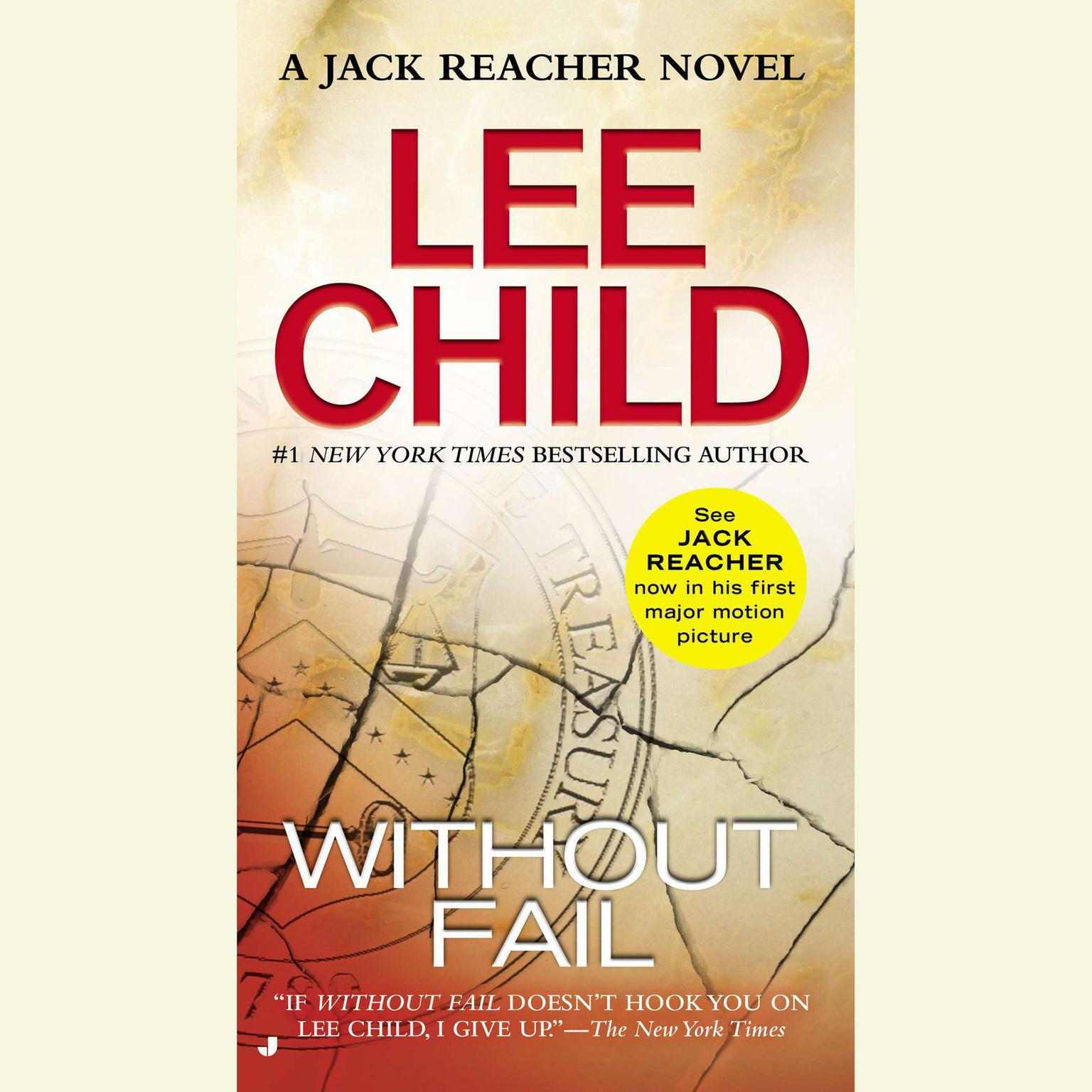 Printable Without Fail: A Jack Reacher Novel Audiobook Cover Art
