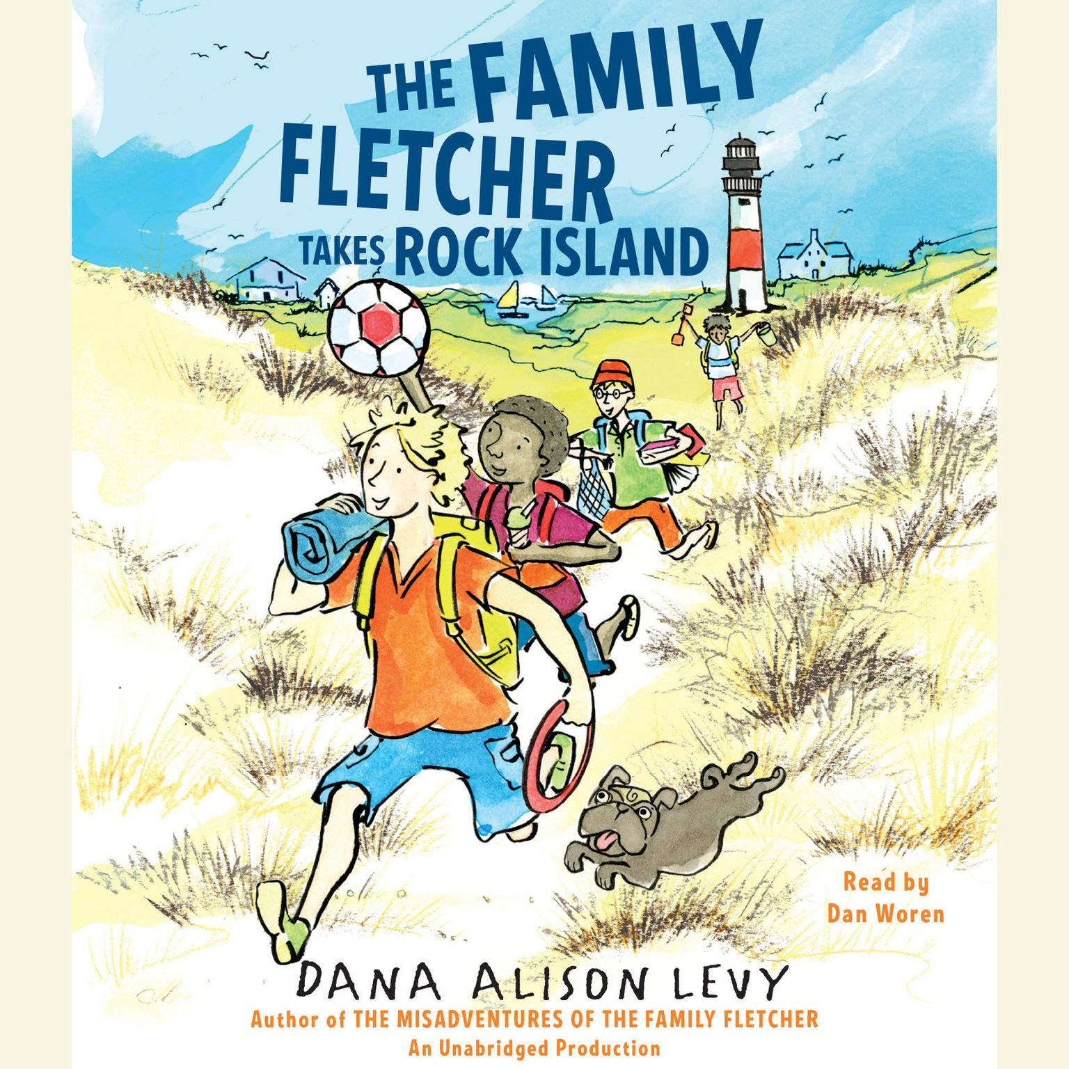 Printable The Family Fletcher Takes Rock Island Audiobook Cover Art