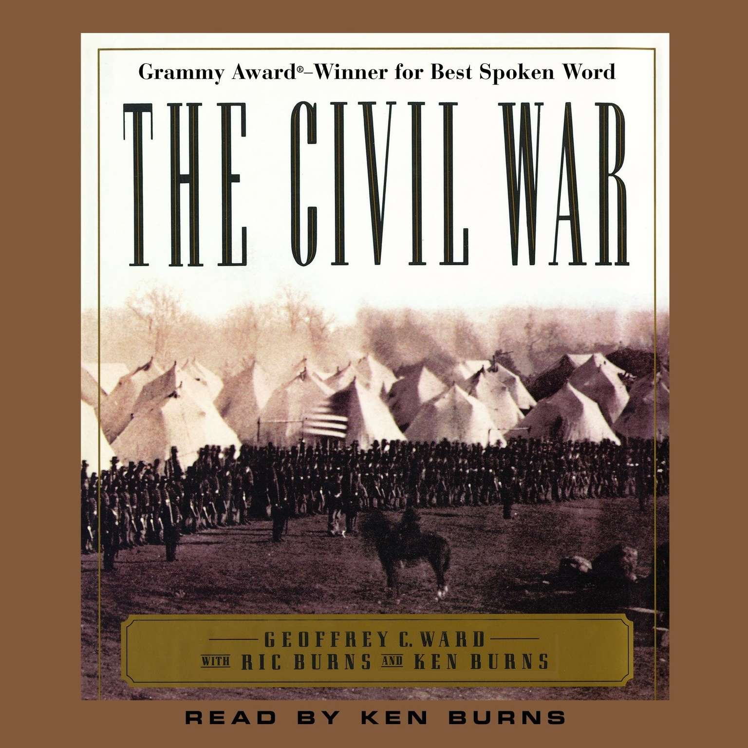 Printable The Civil War Audiobook Cover Art